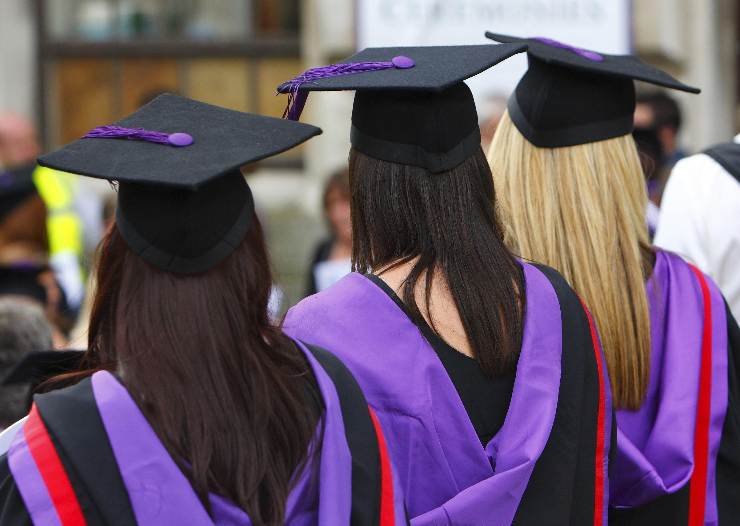 Most new graduates would be more optimistic about finding a job if Labour wins the General Election, a study reveals. (Chris Ison/PA Wire)