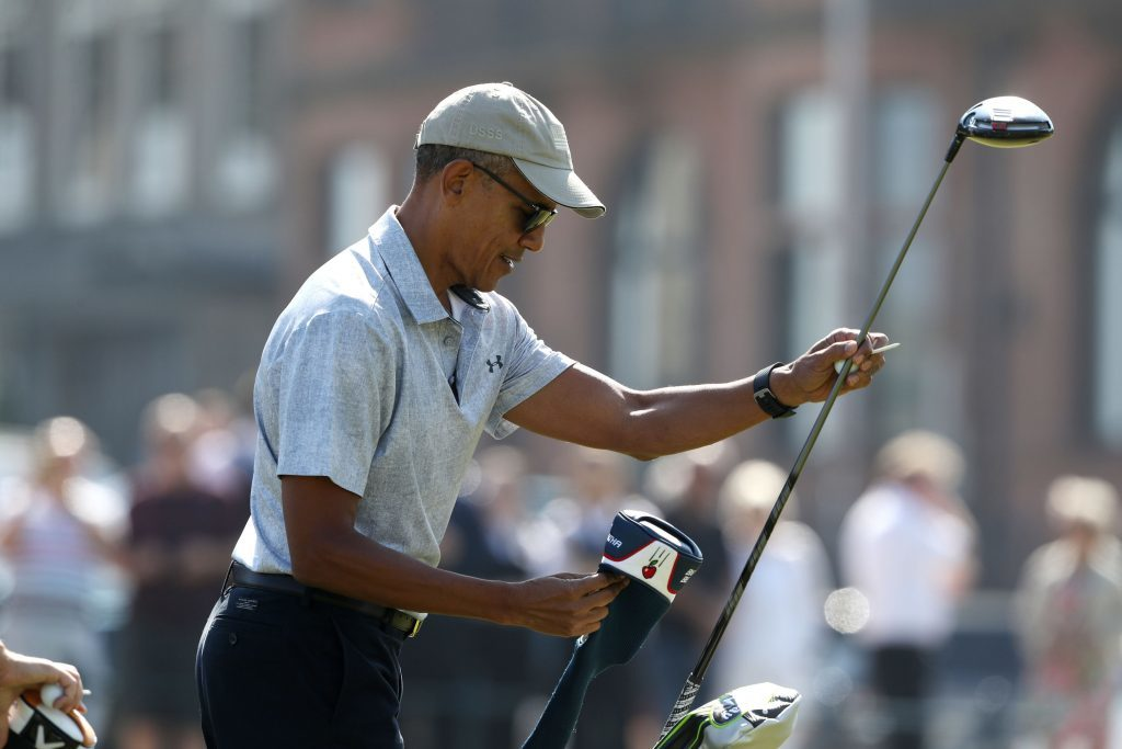 Obama selects his club (Andrew Milligan/PA Wire)