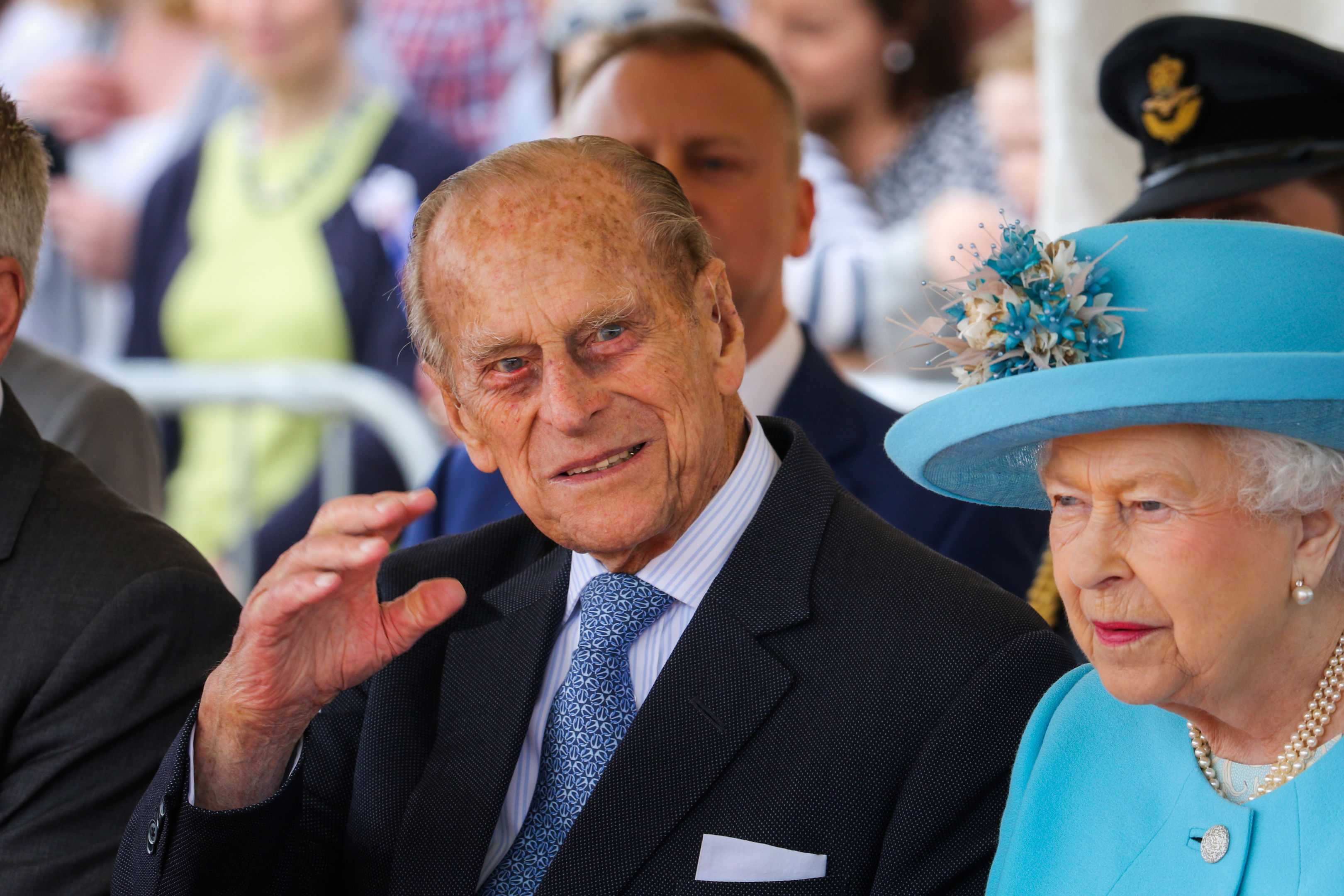 Prince Philip (Steve MacDougall / DC Thomson)