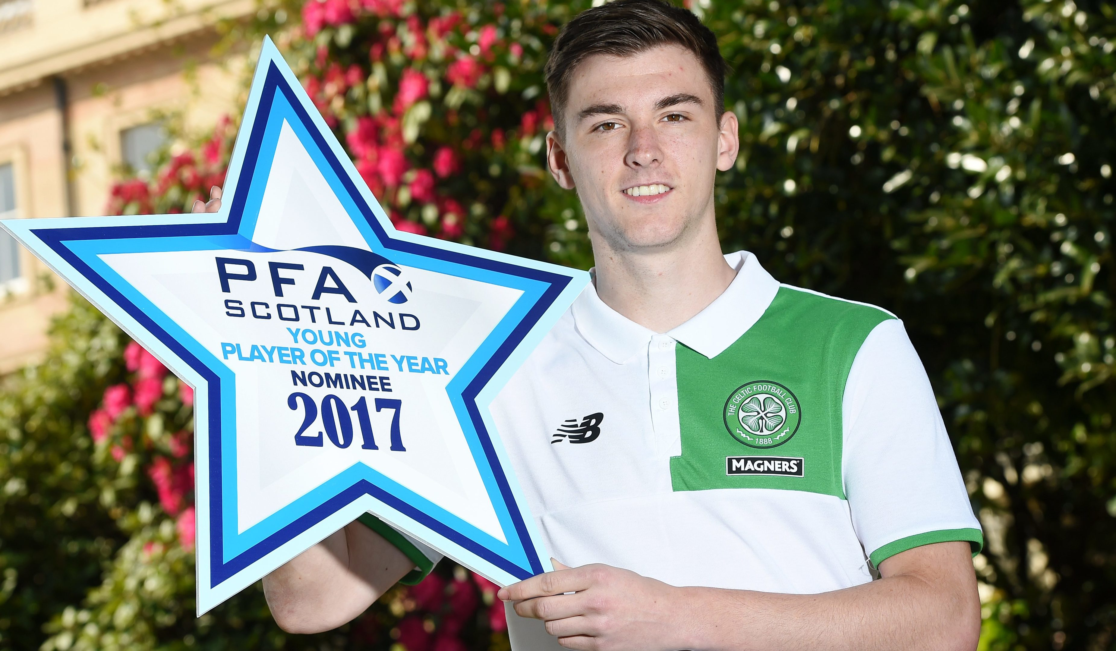 Young Player of the Year Nominee Kieran Tierney (SNS Group / Craig Williamson)