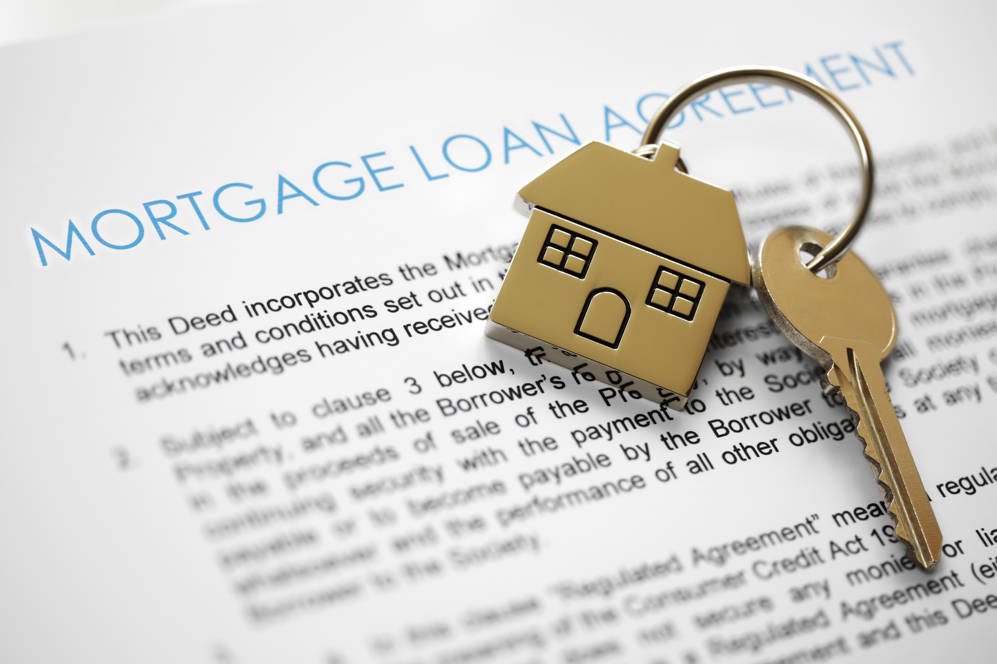 Mortgage loan agreement (iStock)