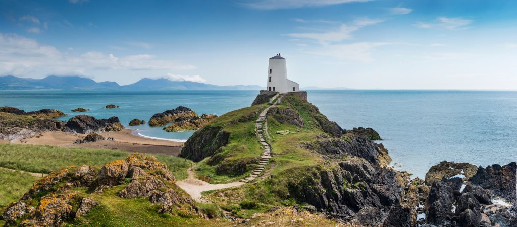 A panorama of Llanddwyn Island, Anglesey (Getty Images)