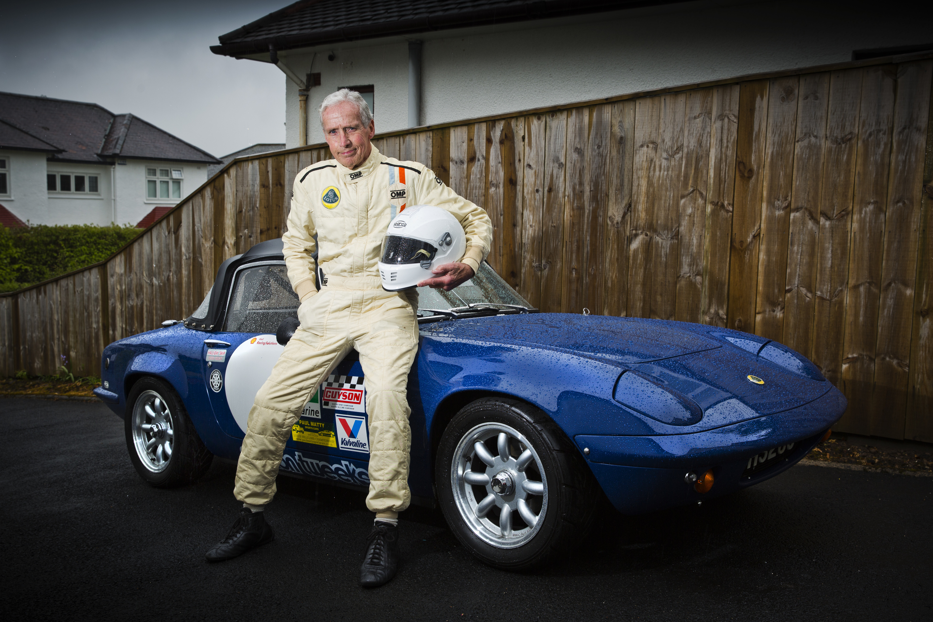 Richard Swindall at 82 still races his 1970 Lotus Elan S4 (Jamie Williamson)