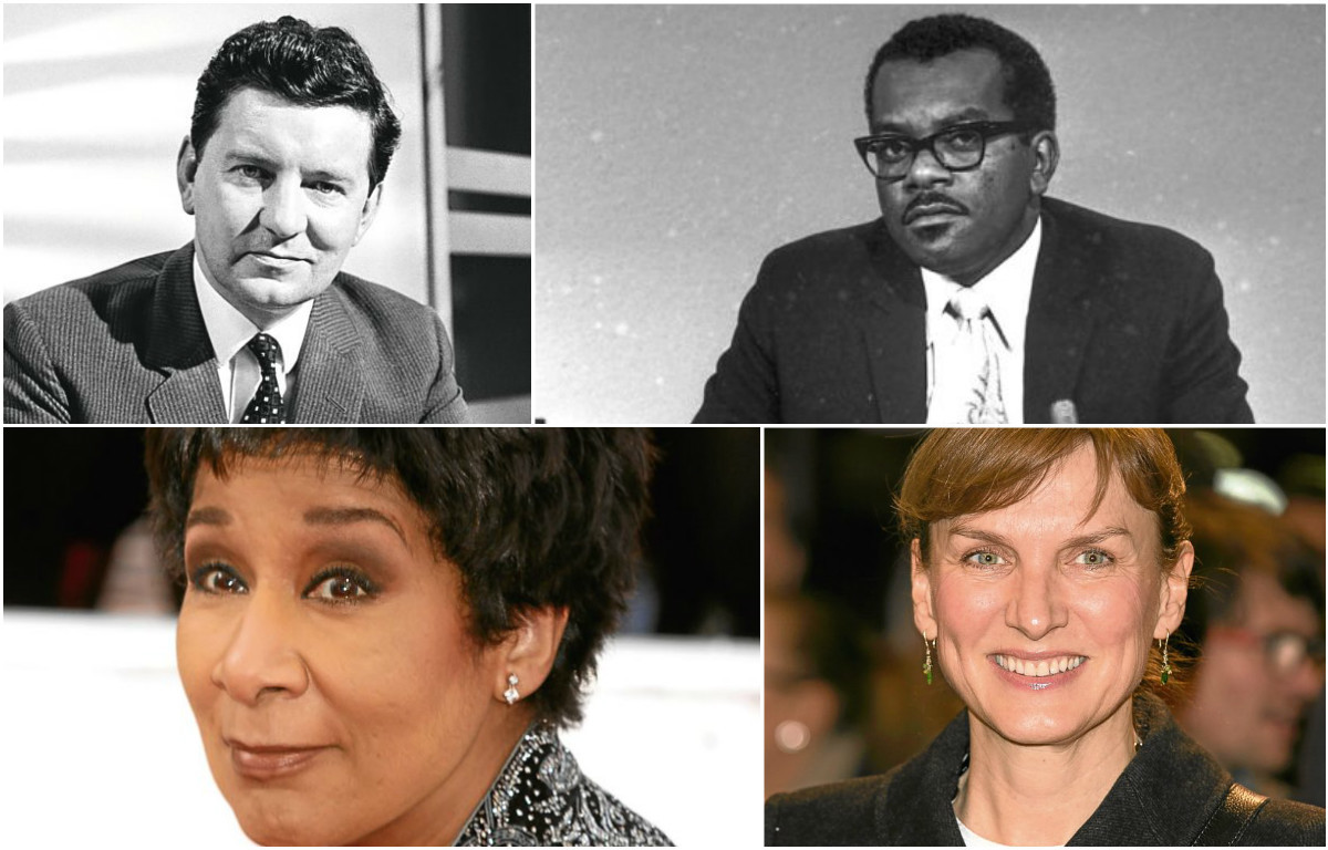 Some of the UK's most famous newsreaders (PA Archive)