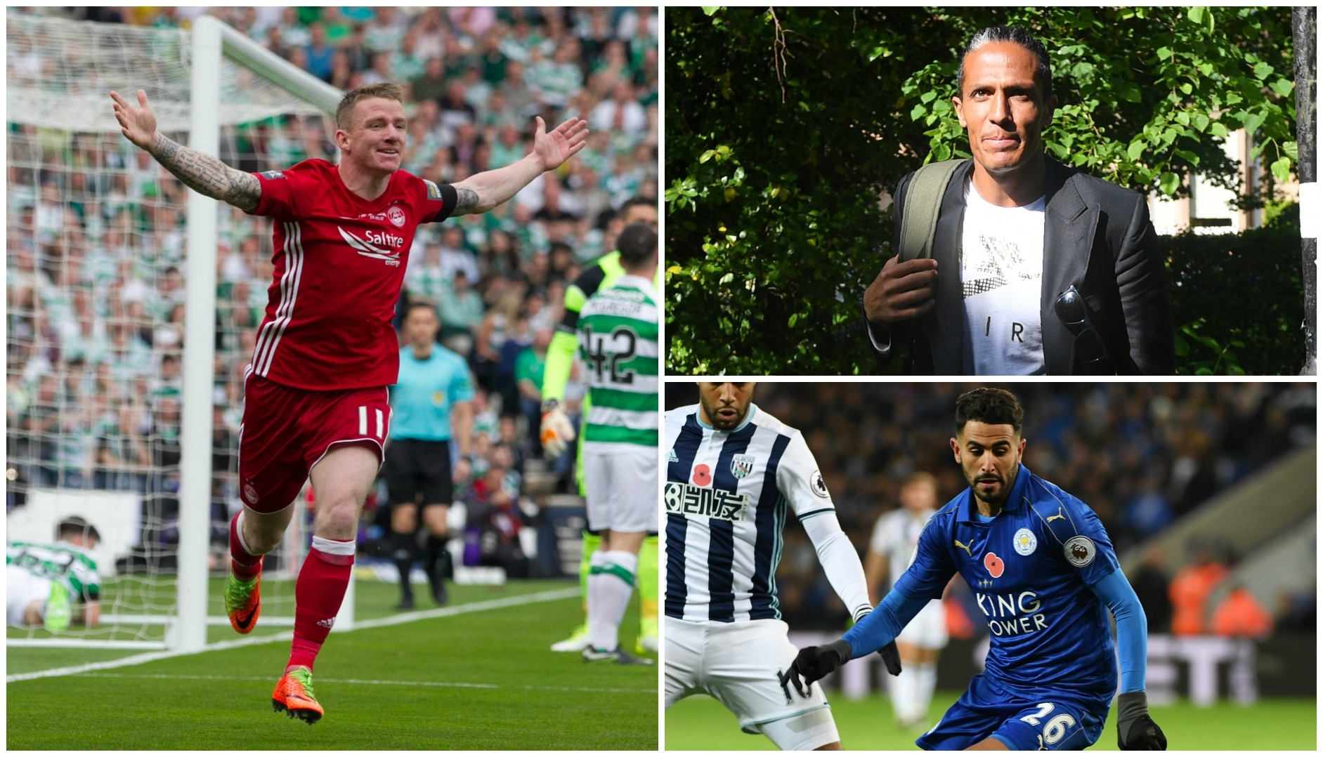 Hayes, Alves and Mahrez feature in today's rumours and gossip (SNS Group & Getty Images)
