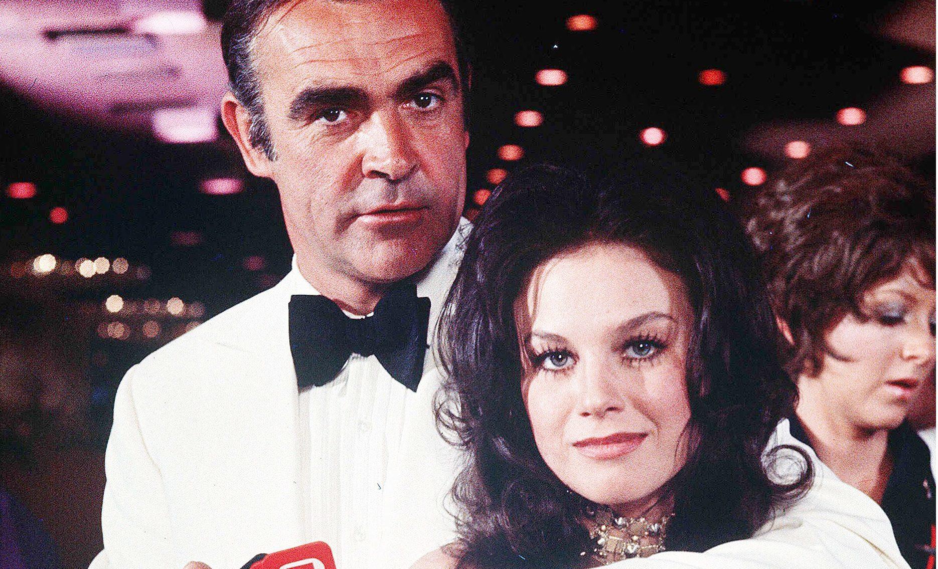 Lana Wood alongside Sean Connery in Diamonds Are Forever (Danjaq/EON/UA/REX/Shutterstock)