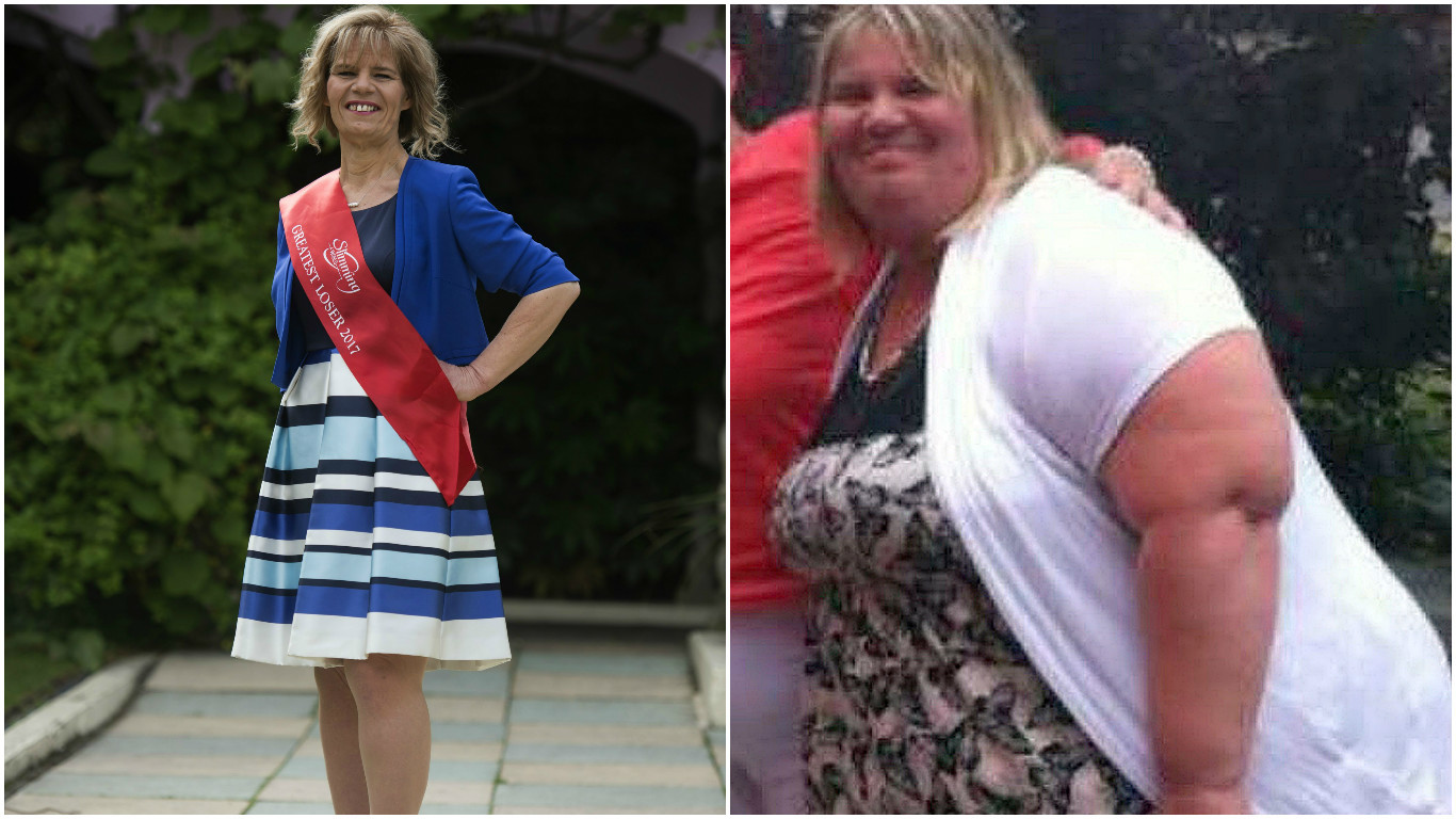 Tracey Topping, who has been awarded the title of Slimming World's Biggest Loser (SlimmingWorld/LaurenHurley/PAWire)