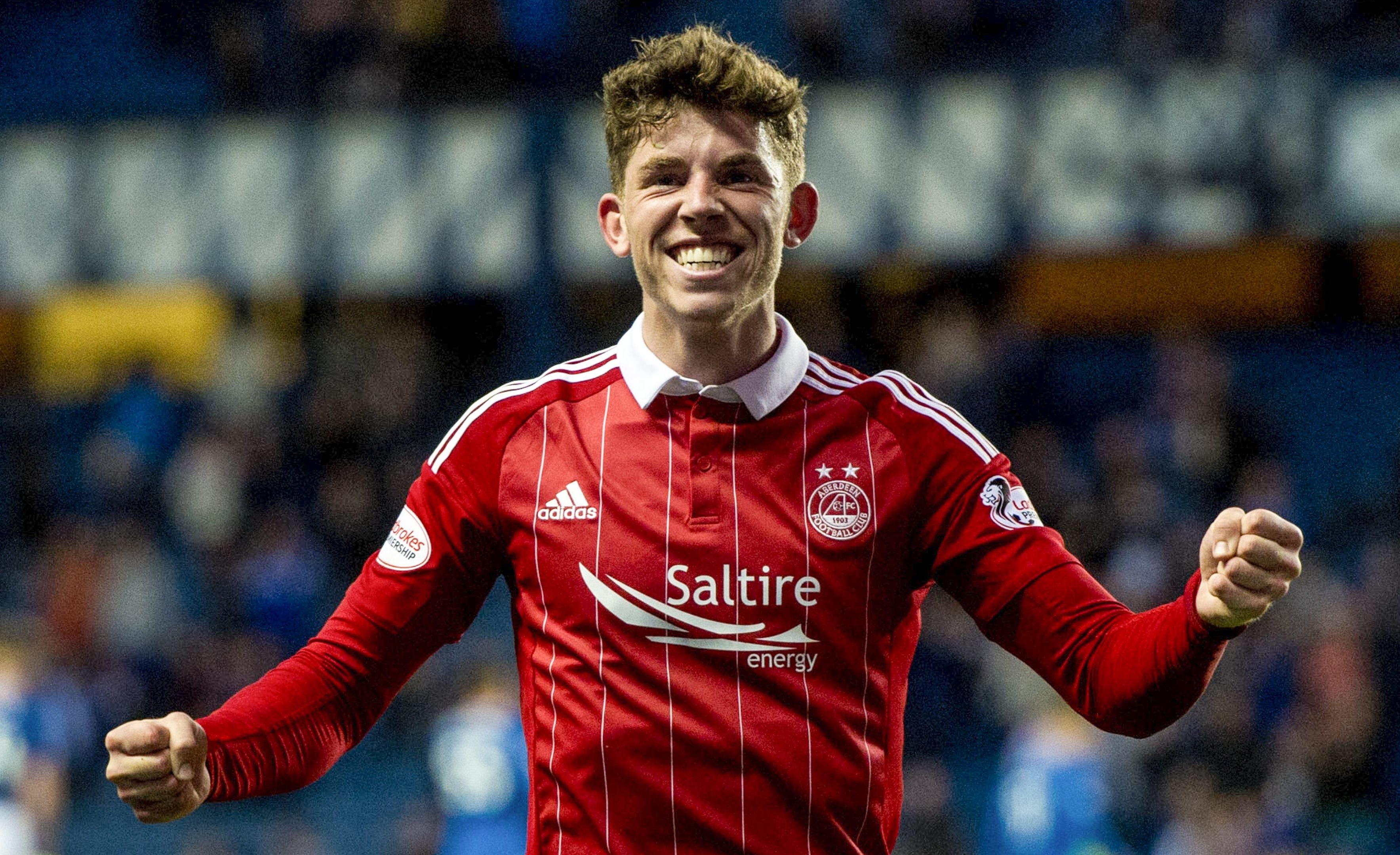 Ryan Christie has returned to Aberdeen on loan this season (SNS Group)