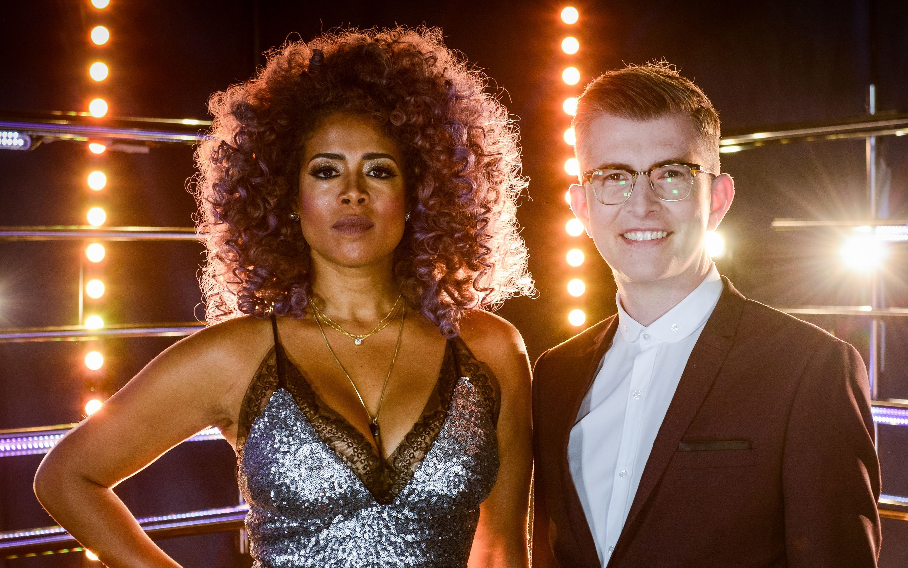 Kelis and Gareth Malone are judges on the show (Kieron McCarron)