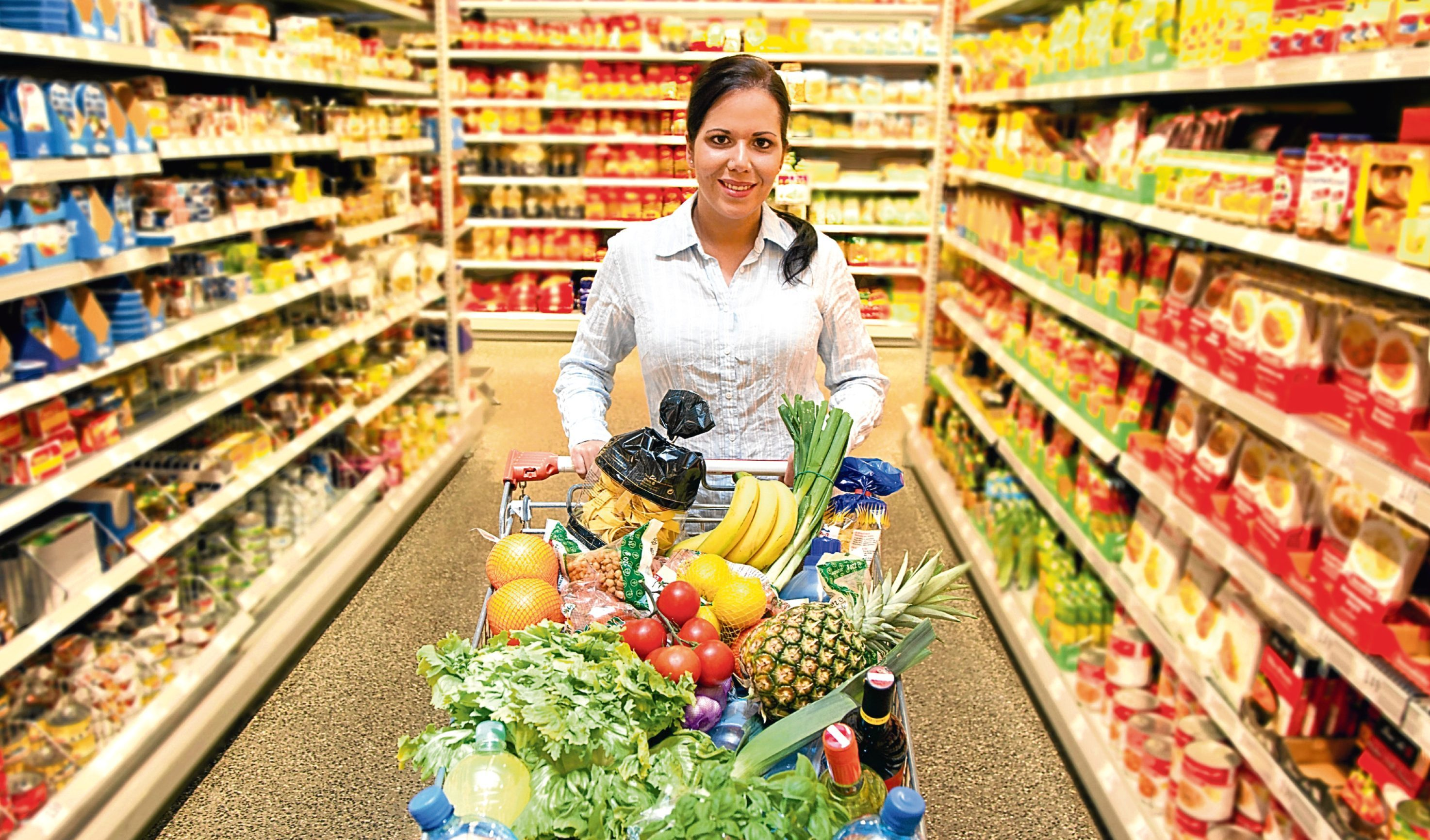 How much fruit and veg do you buy?