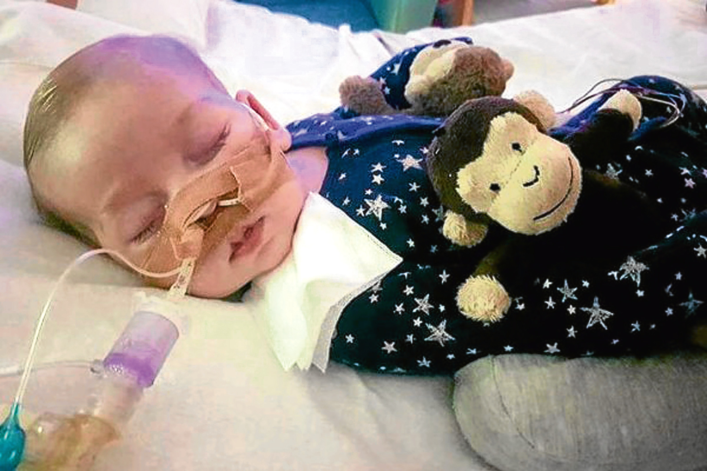 Charlie Gard. (Family handout/PA Wire)