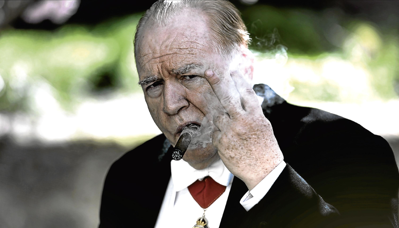 Brian Cox as Winston Churchill (Allstar/LIONSGATE)