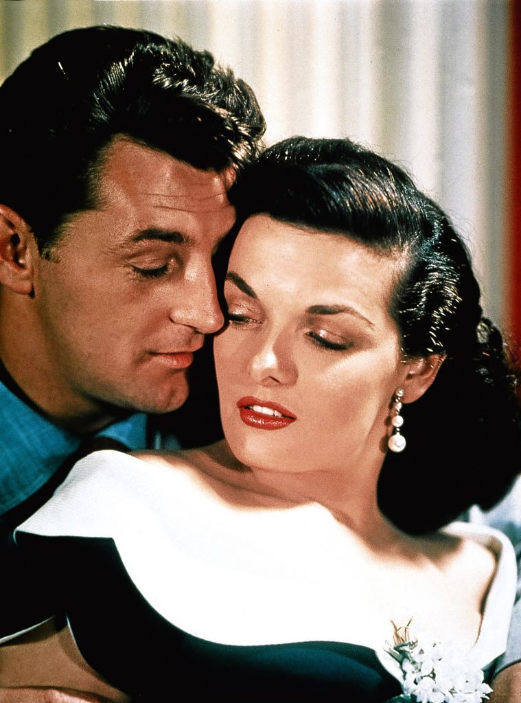 Jane alongisde Robert Mitchum in His Kind of Woman, 1951 (Allstar/RKO)