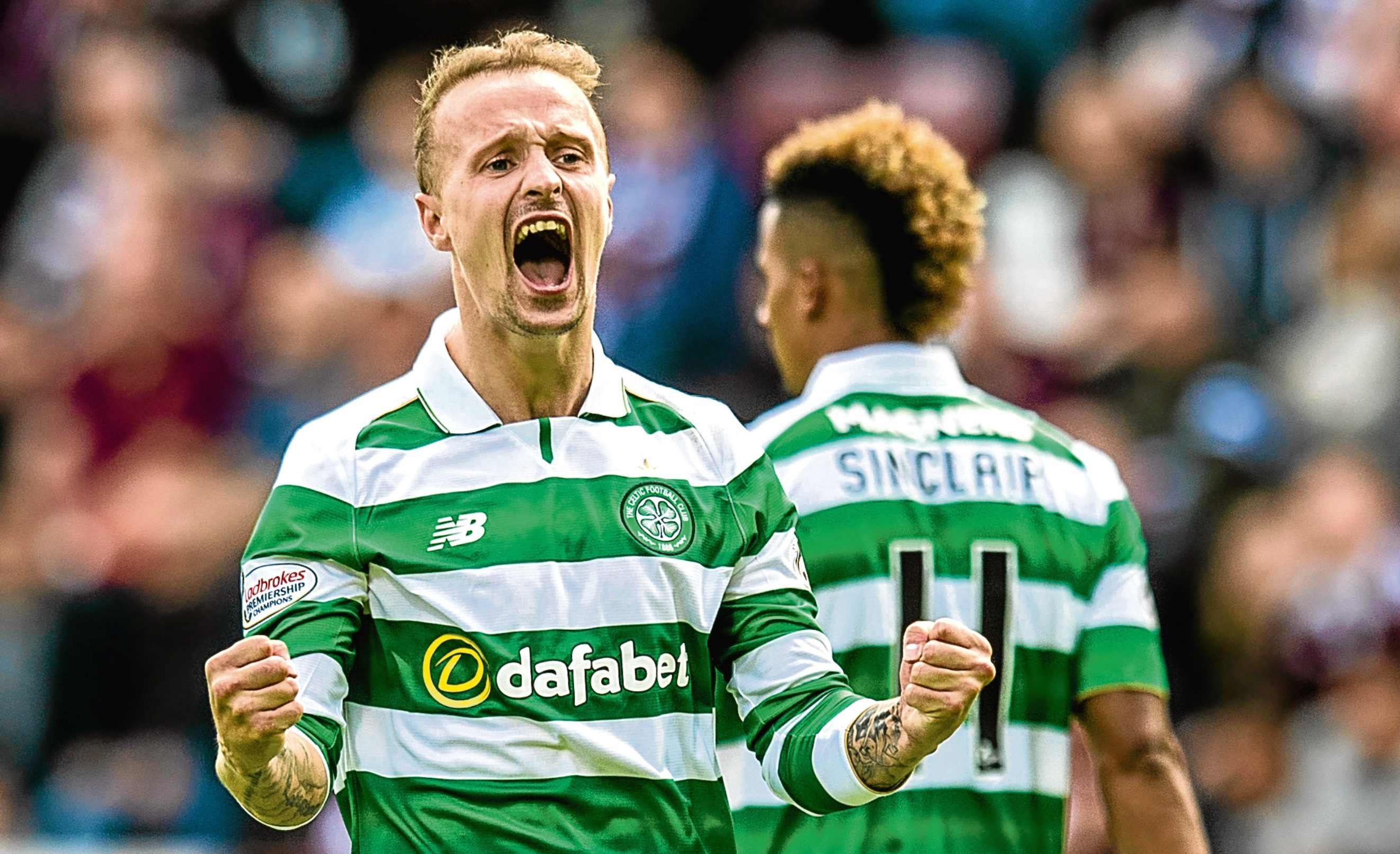 Leigh Griffiths in action for Celtic (SNS Group)