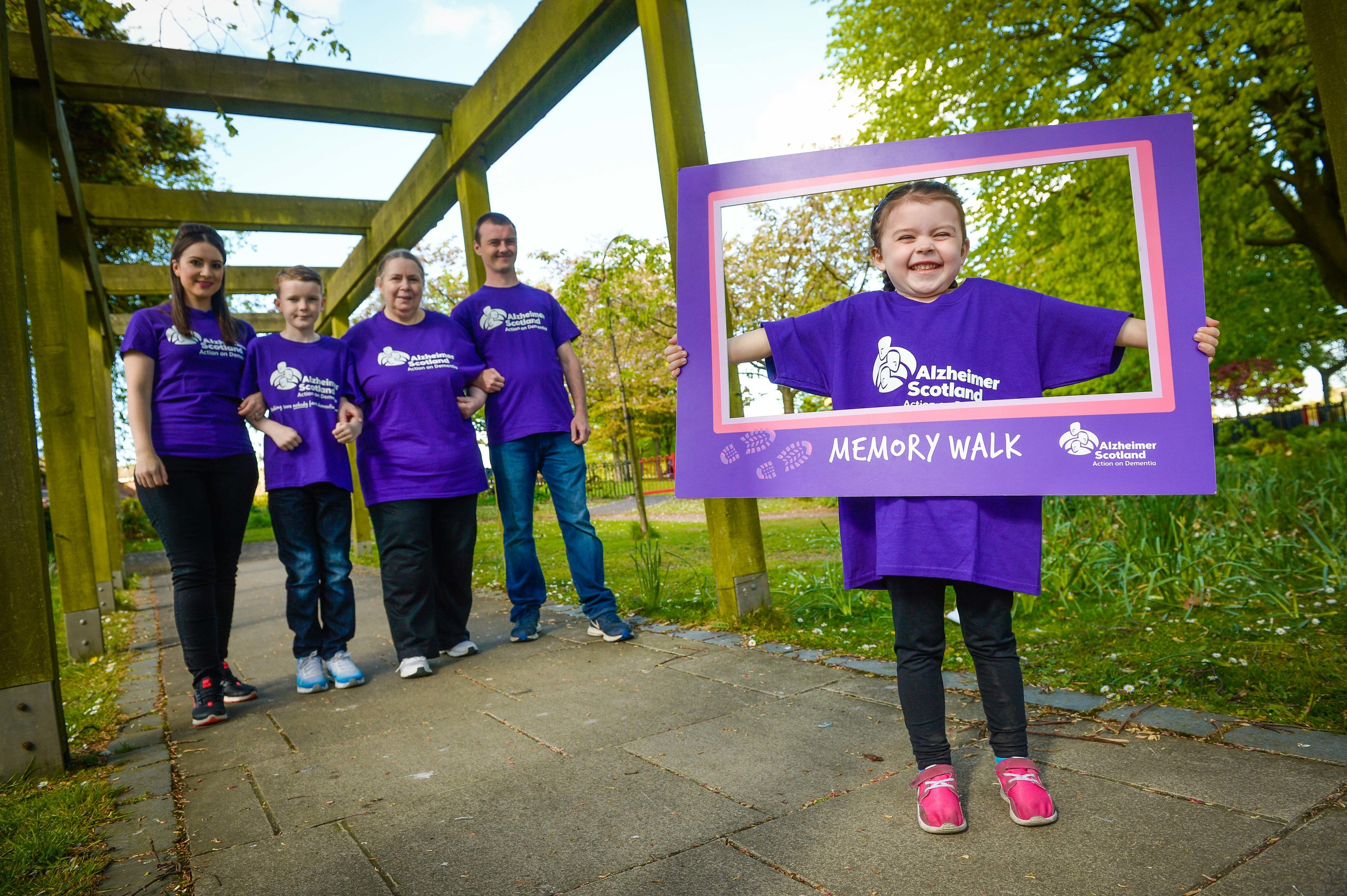 Alzheimer Scotland Memory Walks (Nick Ponty)