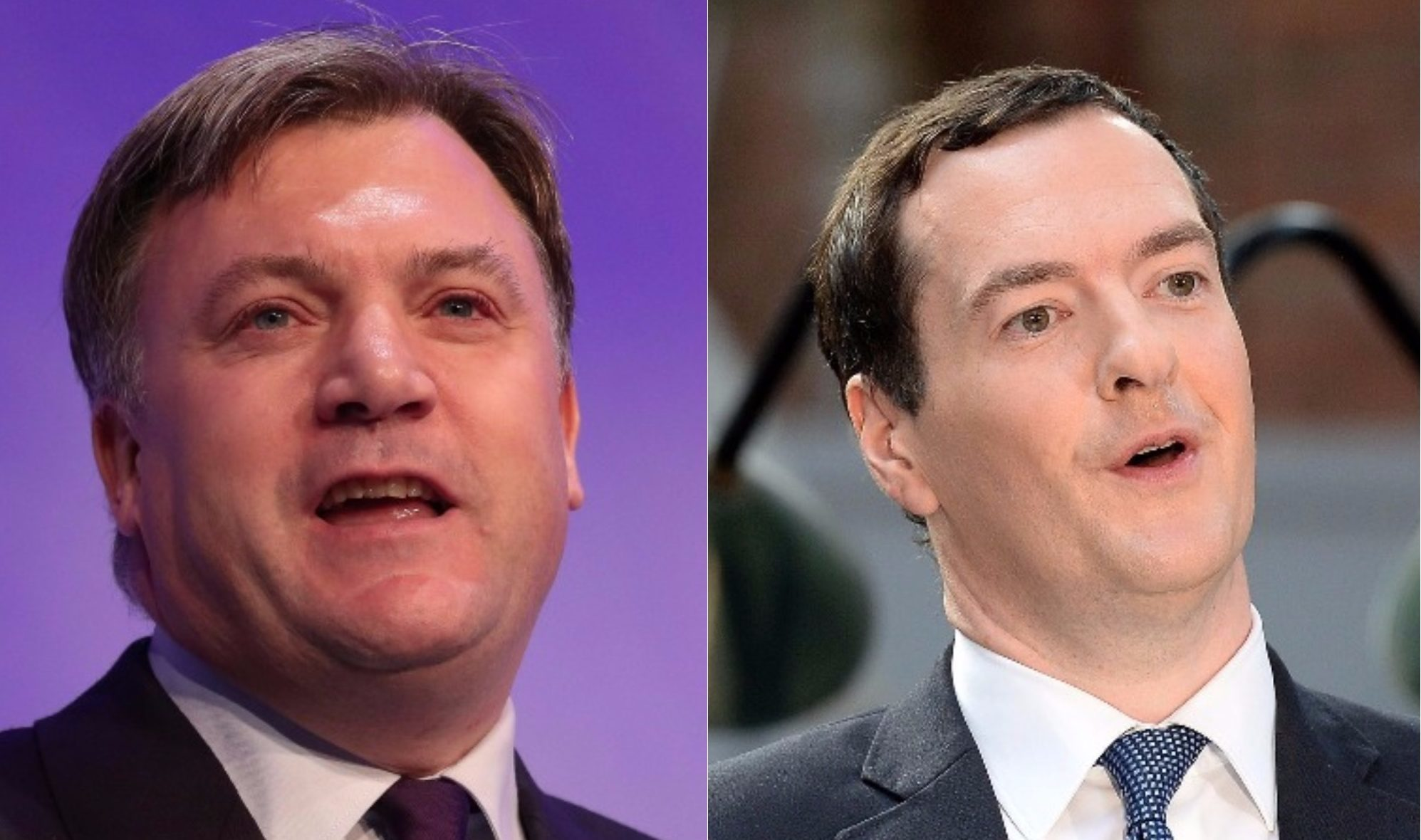 Ed Balls and George Osbourne will be in the ITV for the general election results on June 8th. (Jeff Spicer/Peter MacDiarmid/Getty Images)