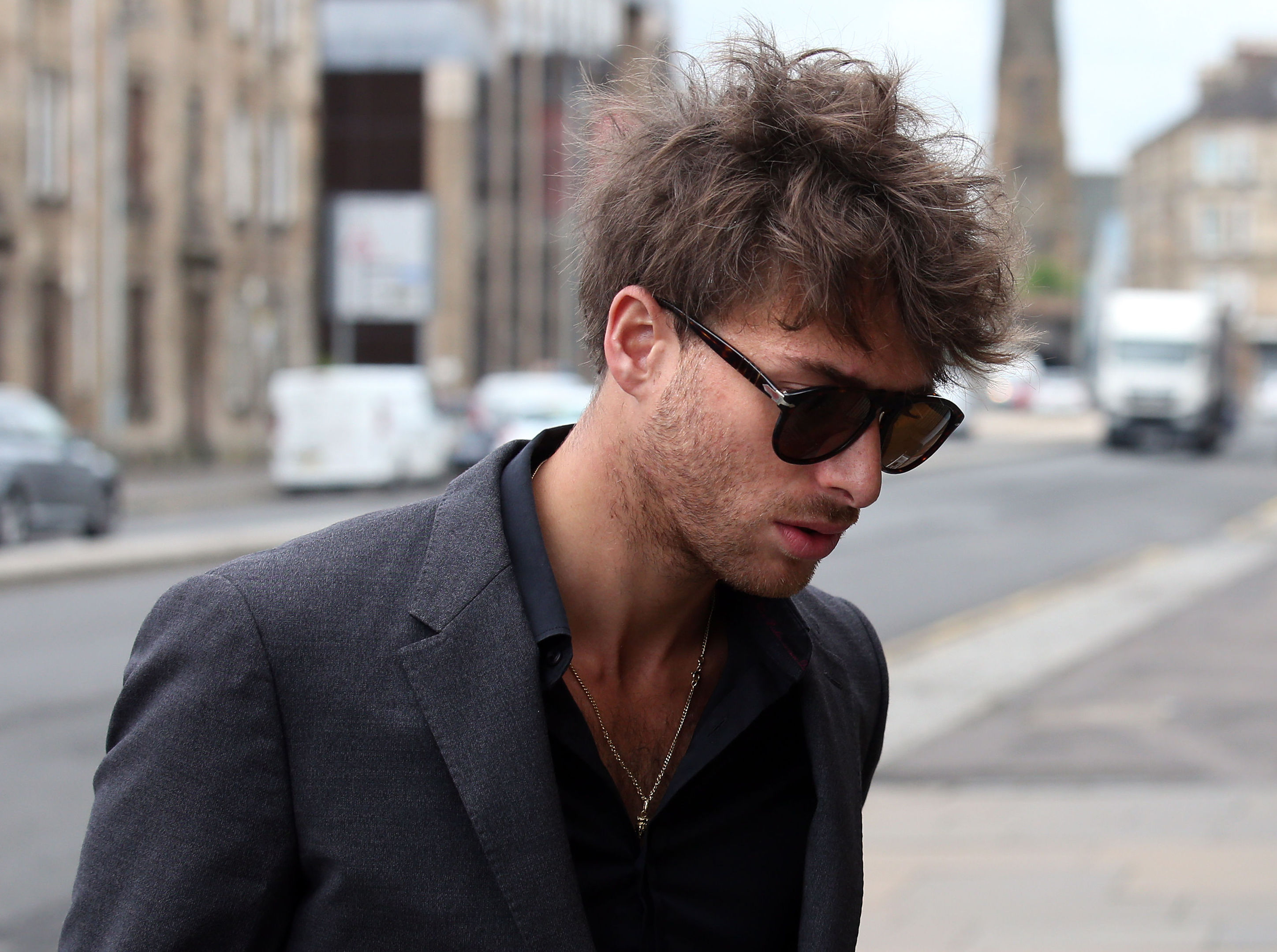 Singer Paolo Nutini arrives at Paisley Sheriff Court (Andrew Milligan/PA Wire)