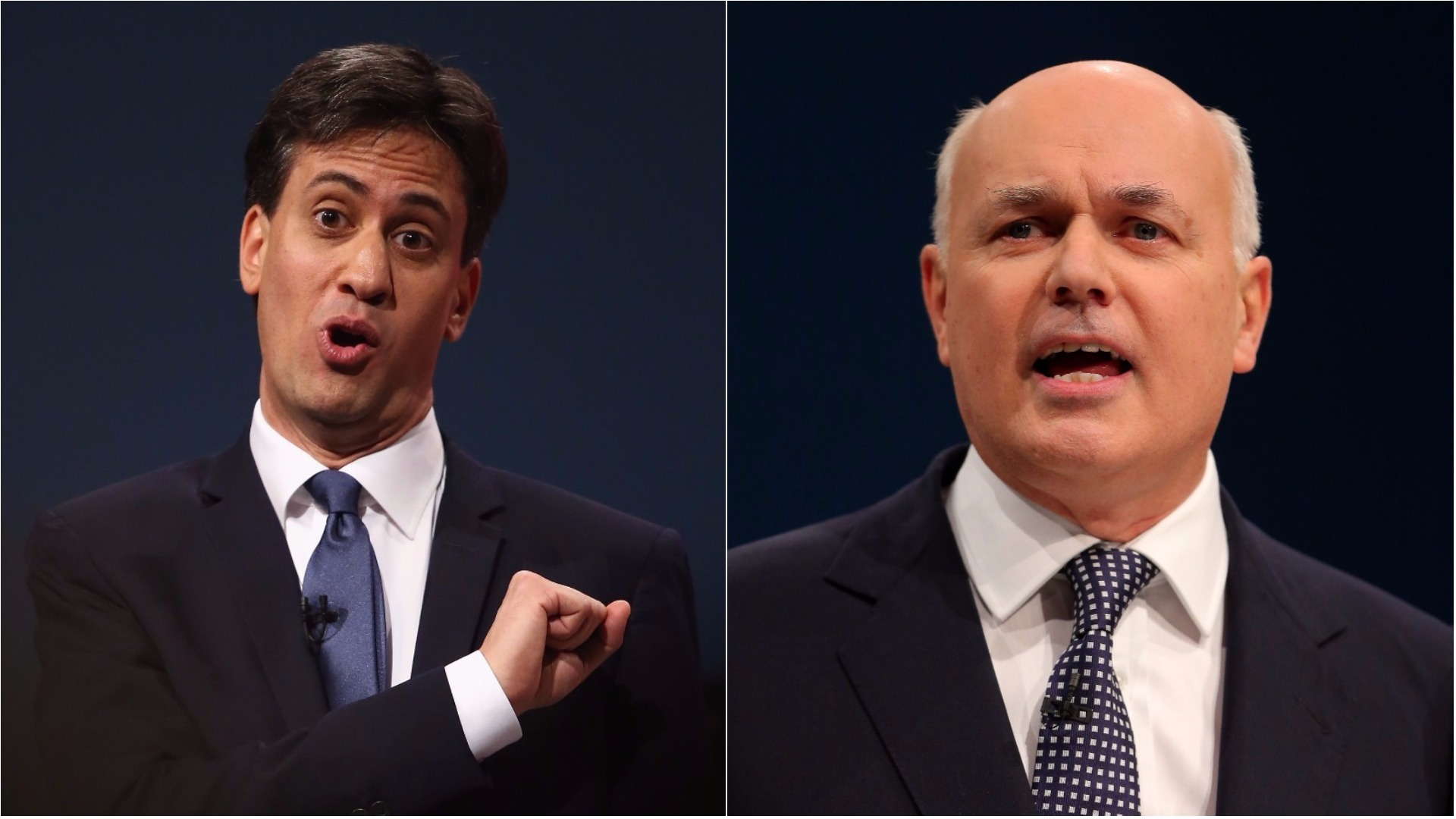 Ed Miliband and Iain Duncan Smith will be on air on Radio 2 (Dan Kitwood, Getty Images/PA)
