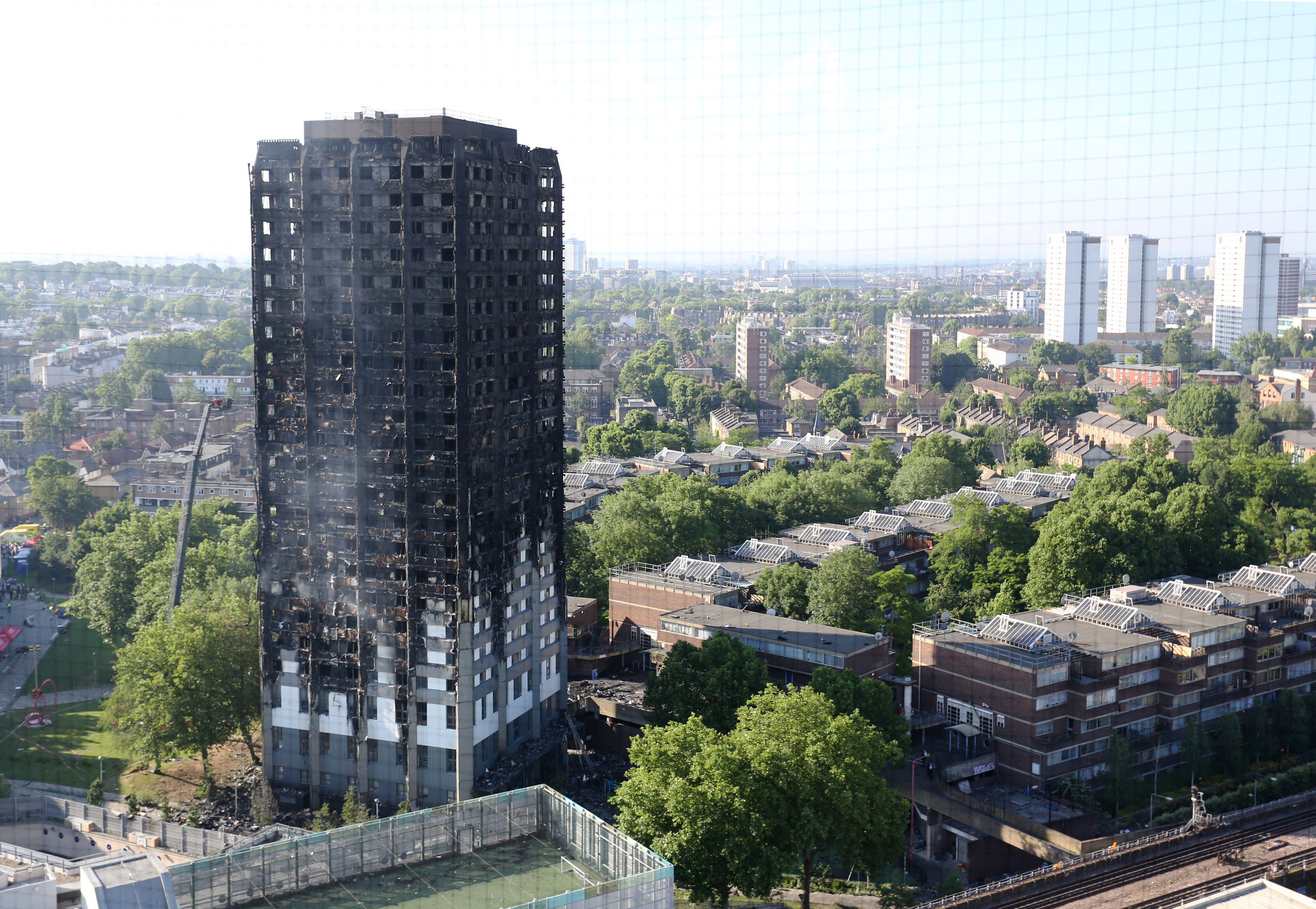 Grenfell Tower (Rick Findler/PA Wire)