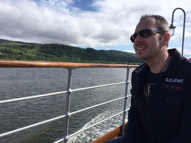 Sunday Post writer Murray Scougall on the PS Waverley.