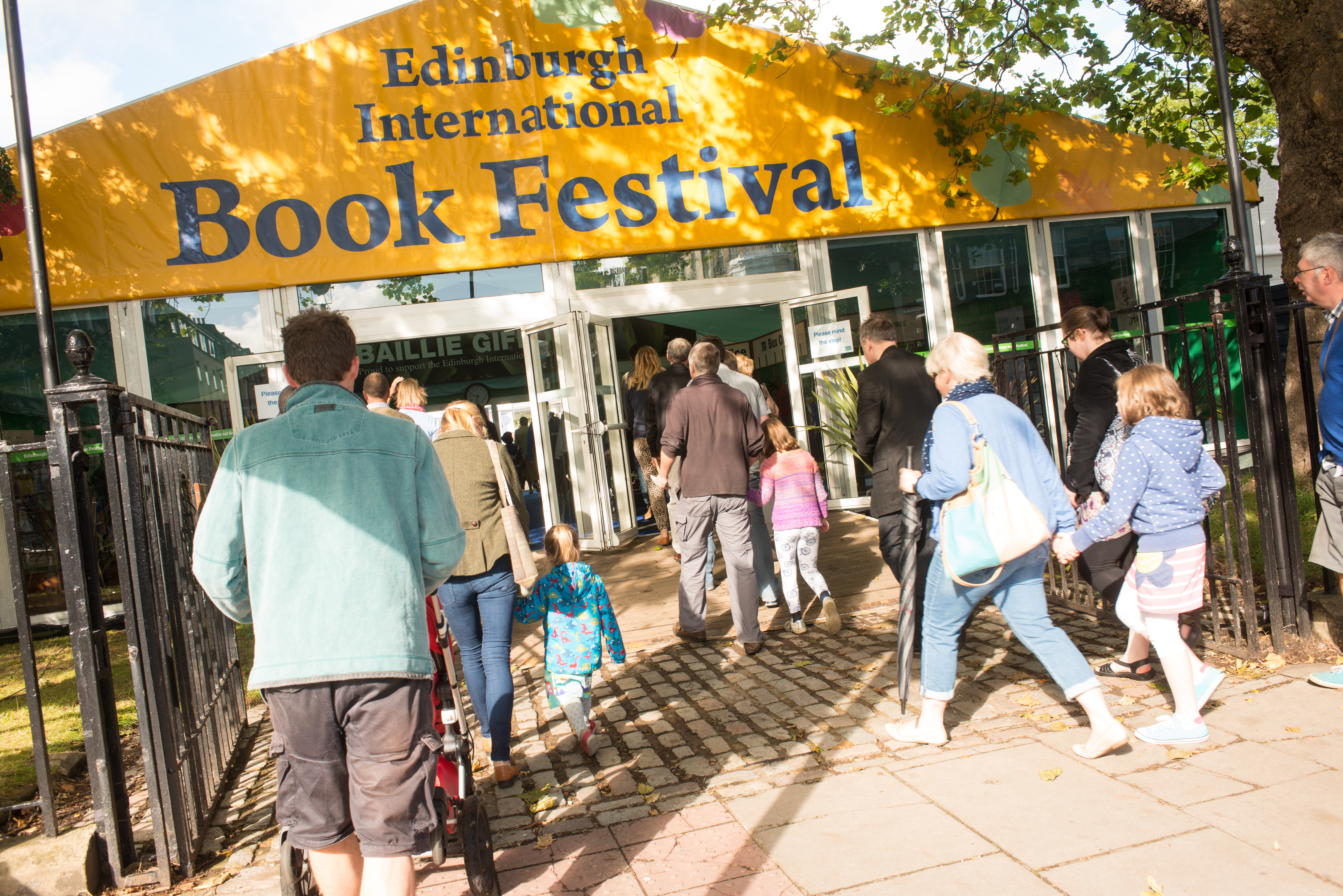 Edinburgh International Book Festival (Alan McCredie/Edinburgh International Book Festival)
