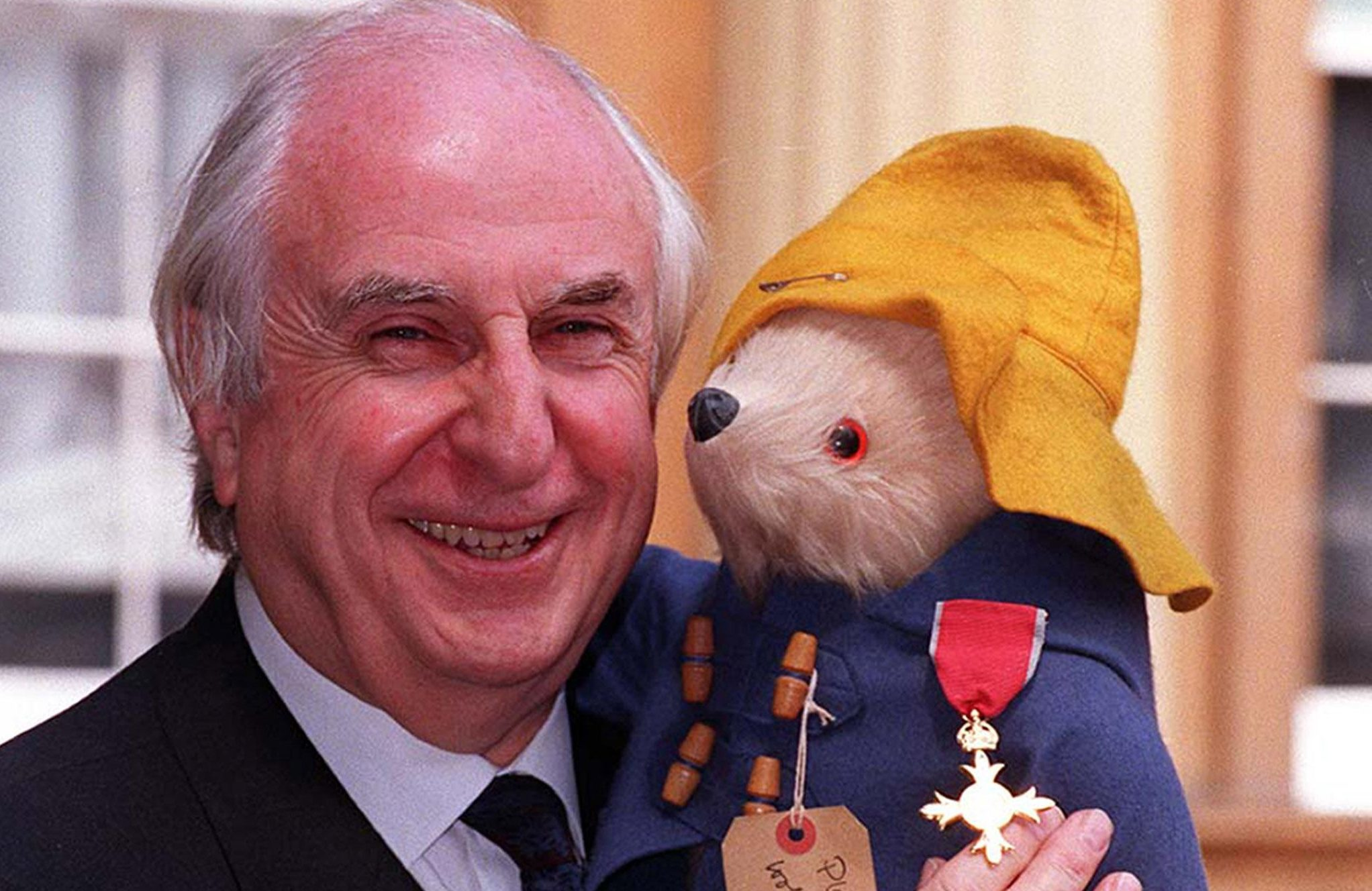 Michael Bond in 1997 (PA Wire)