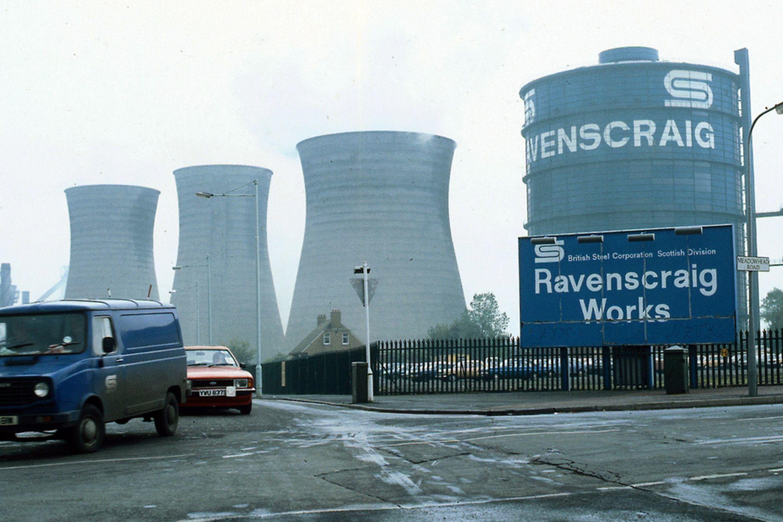 Ravenscraig steelworks