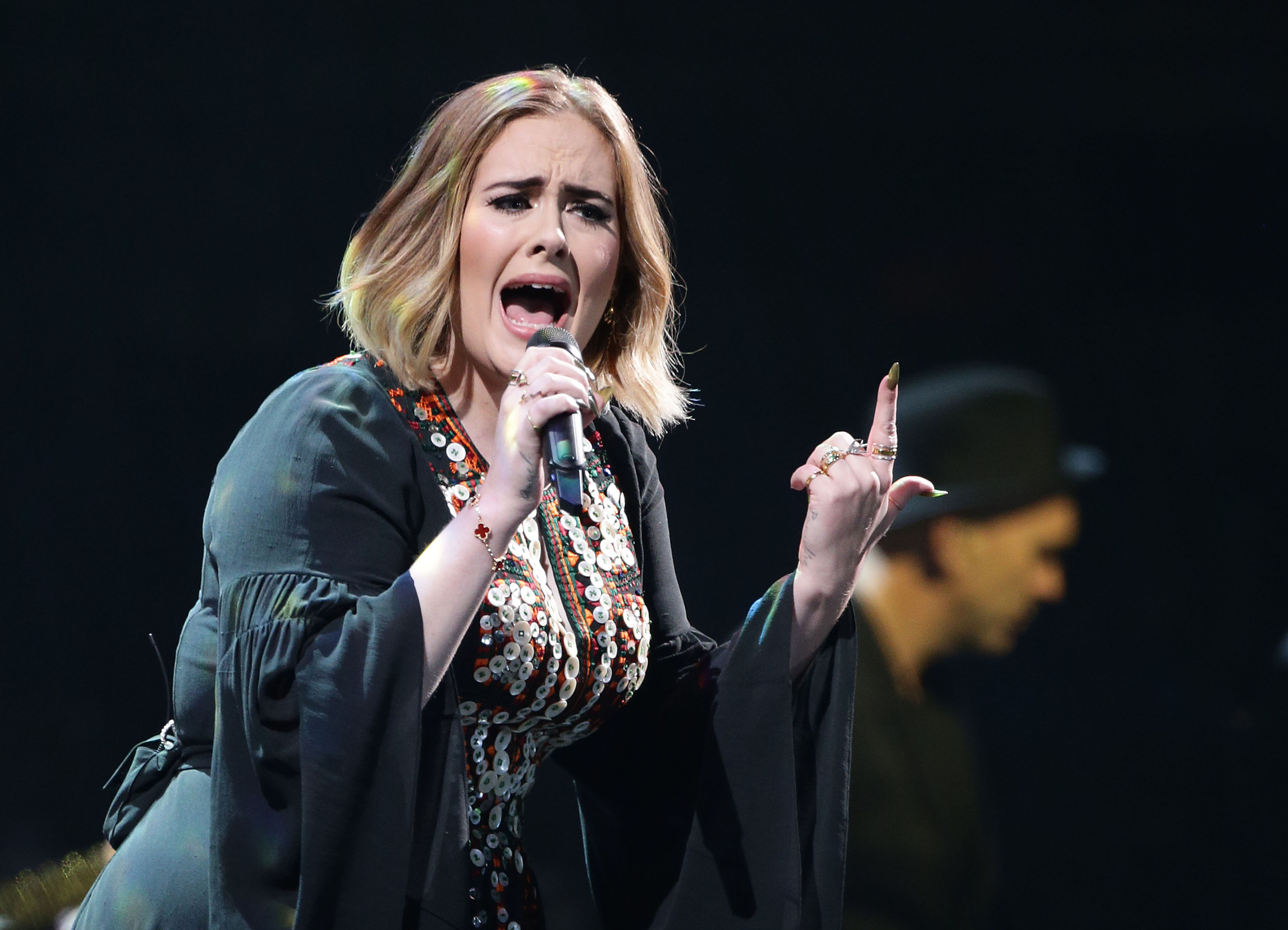 Adele posted a message on Instagram encouraging her fans to vote in the General Election (Yui Mok/PA Wire)