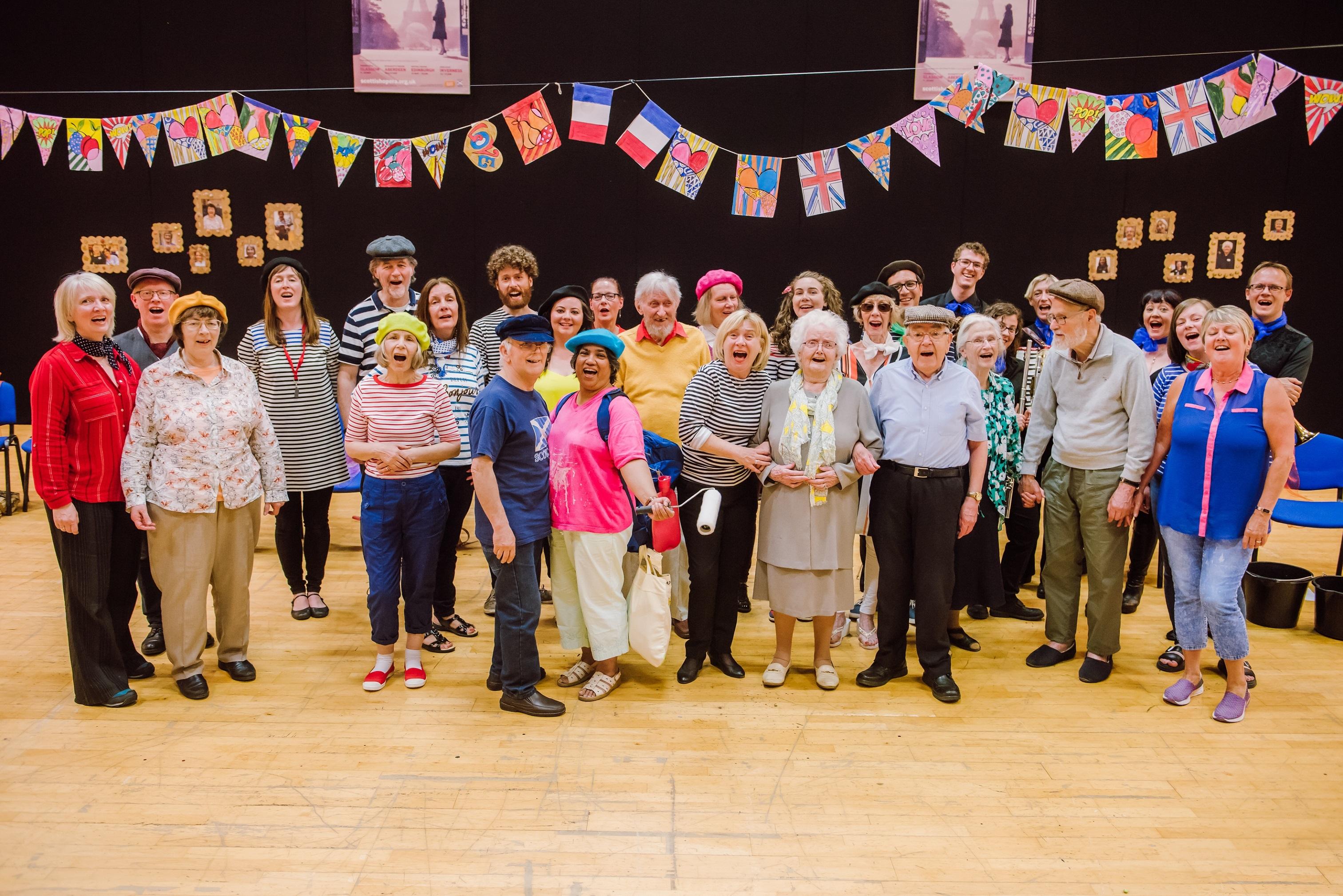 Scottish Opera's Glasgow Memory Spinners group. (Mihaela Bodlovic)