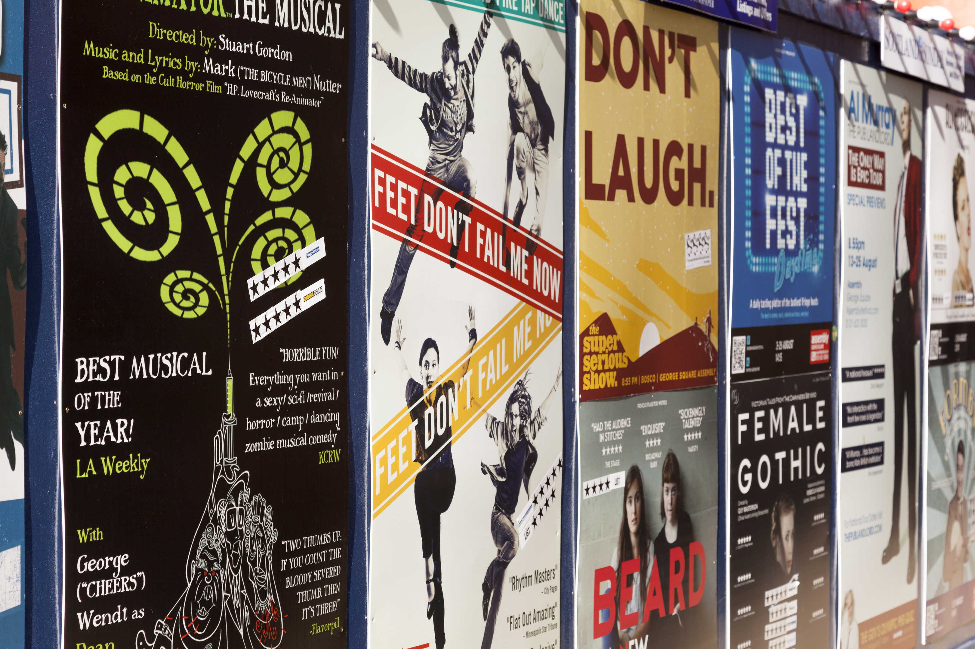 Shows from all categories in the Fringe programme are eligible for the Mental Health Fringe Award (iStock)