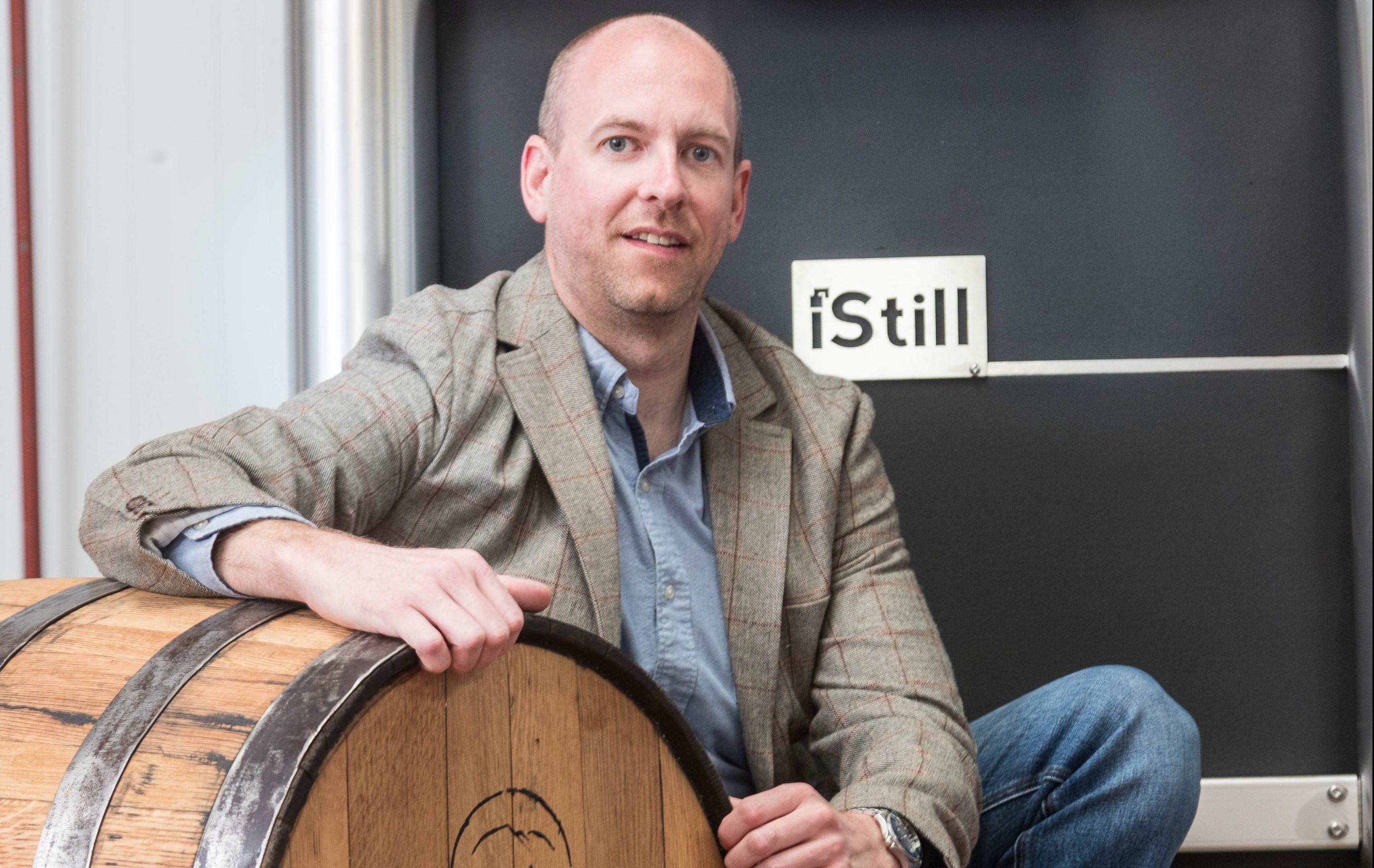 Peter Dignan brews in his shed (Derek Ironside / Newsline Media)