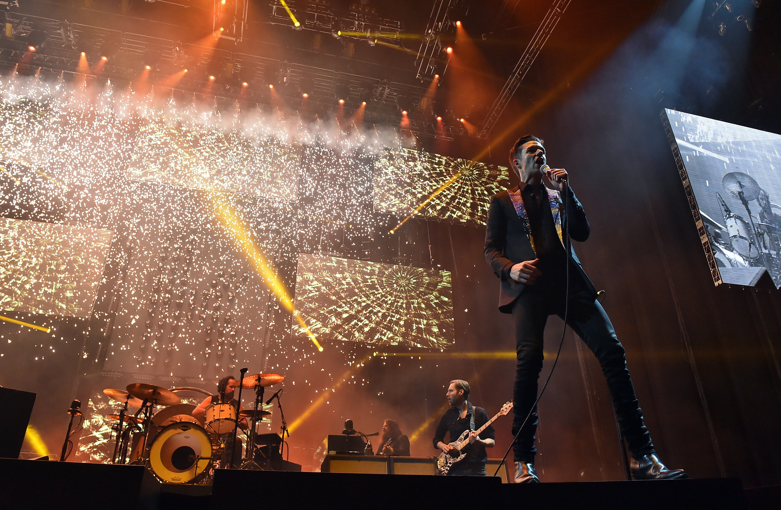 The Killers perform (Kevin Winter/Getty Images for ABA)