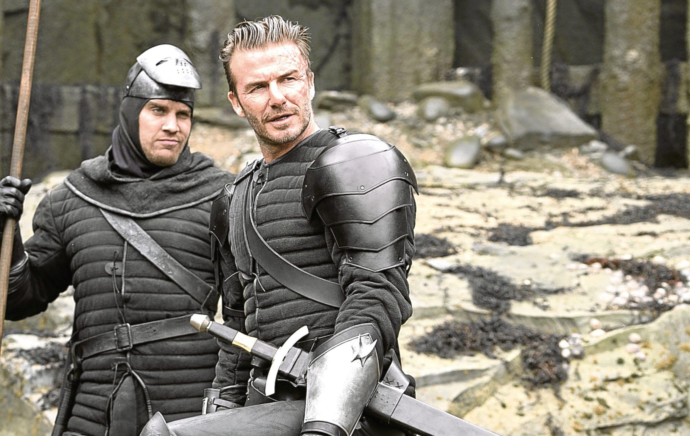 David Beckham's cameo in King Arthur: Legend of the Sword  (Allstar/WARNER BROS.)