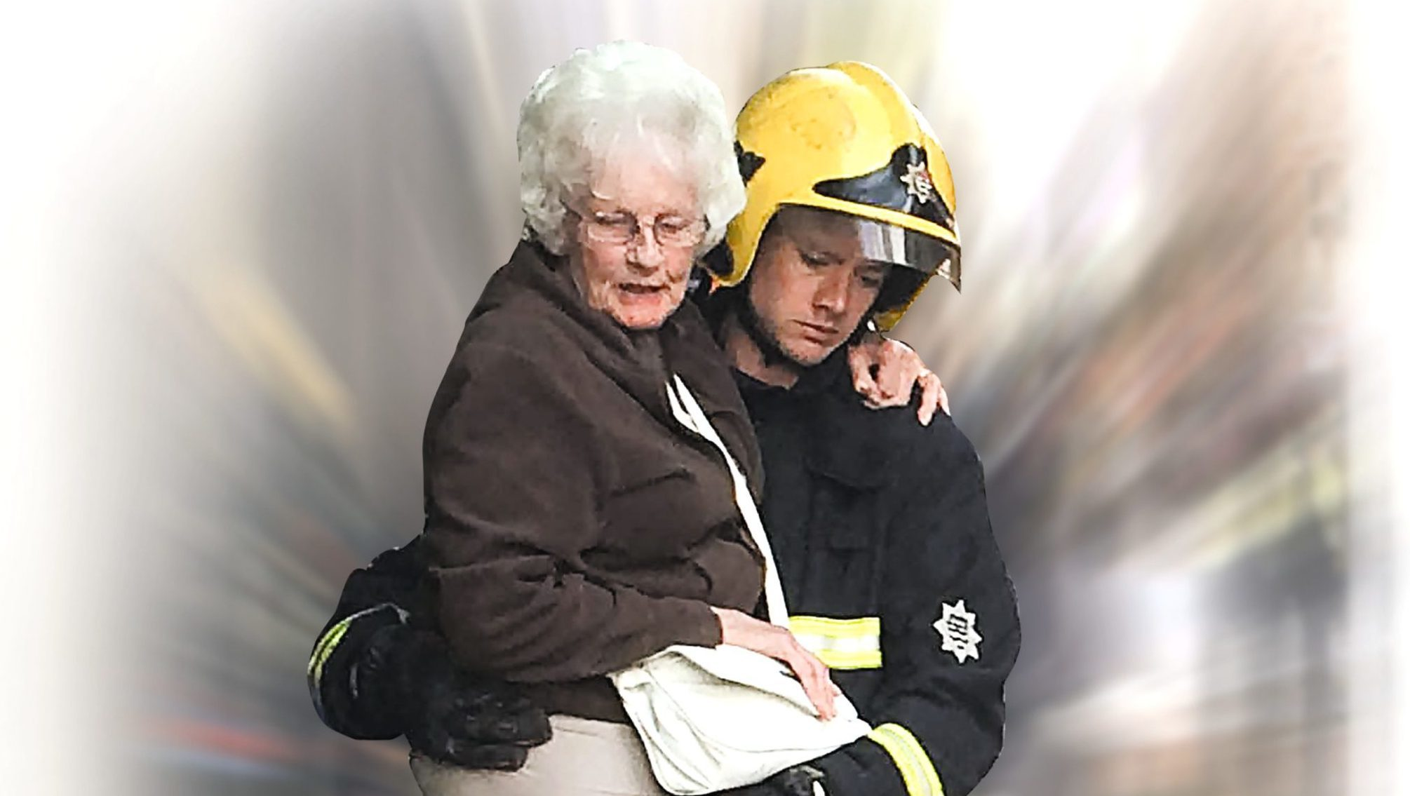 The shape of things to come? Fire officers could be helping OAPs more (Susie Stringfellow/LNP/REX/Shutterstock)