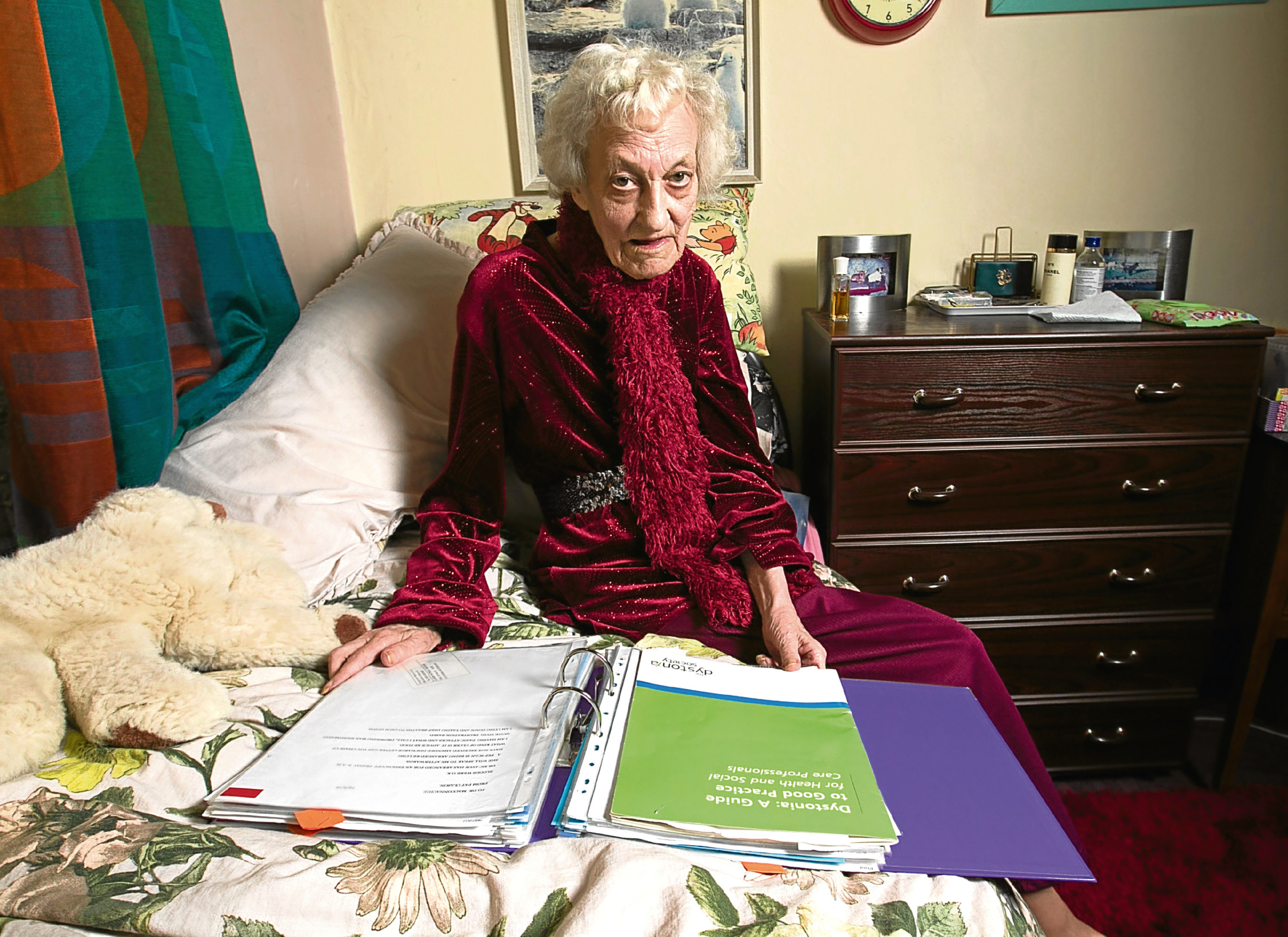 Patricia Clarson says she only found out her condition was terminal in a discharge letter (Chris Austin / DC Thomson)