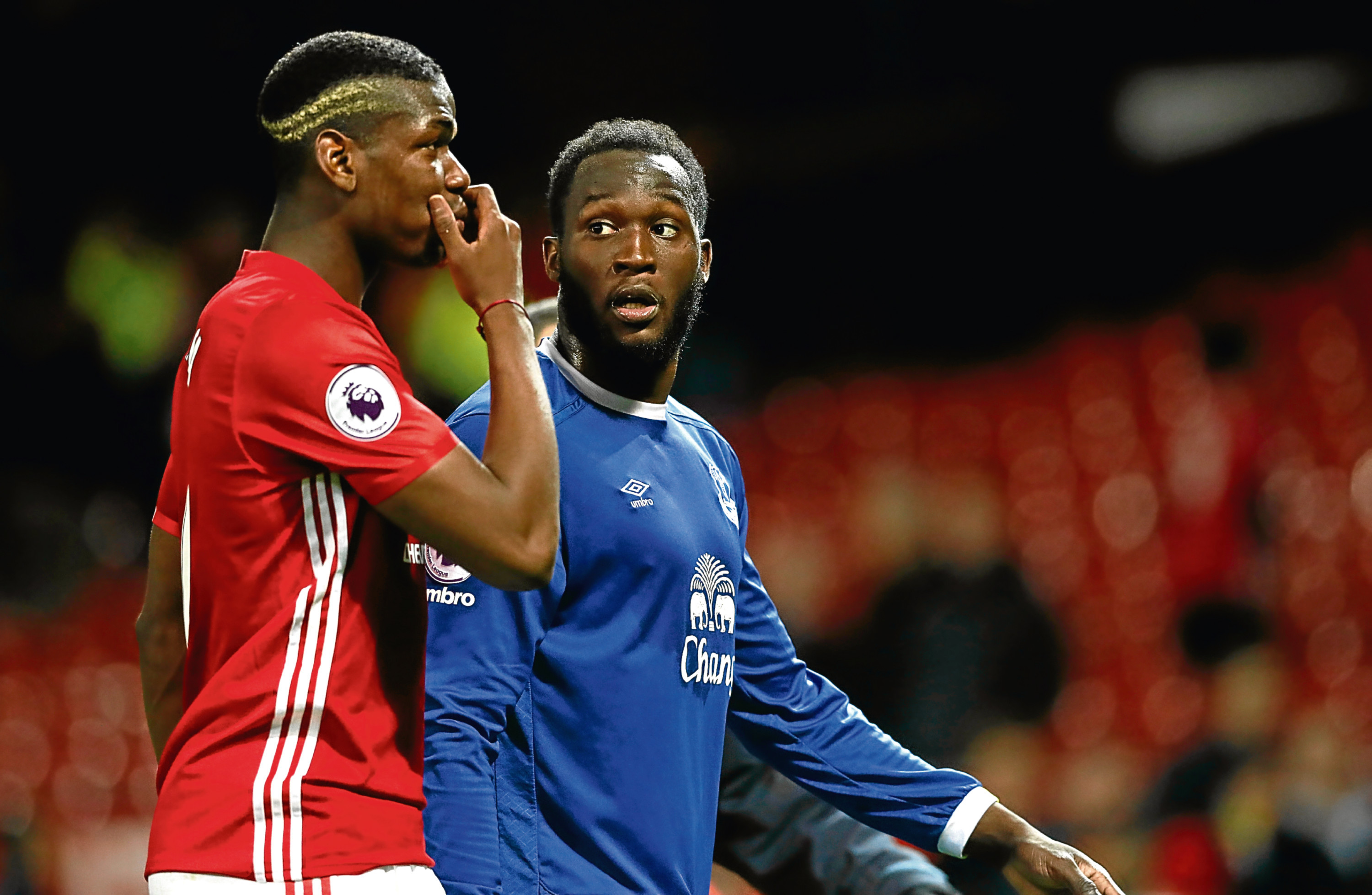 Romelu Lukaku and Paul Pogba (Martin Rickett/PA Wire)