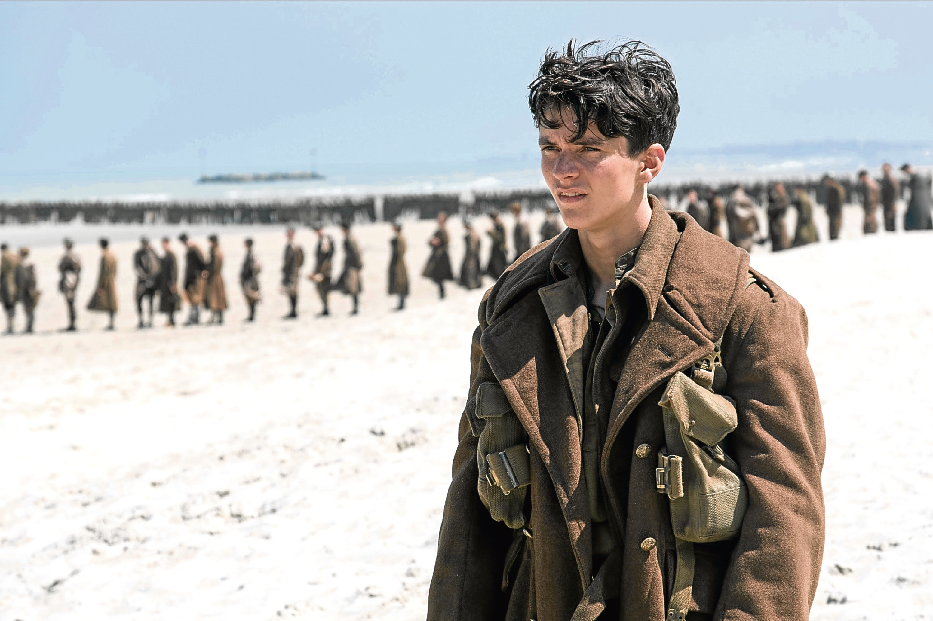 Fionn Whitehead in Dunkirk (Allstar/WARNER BROS. )