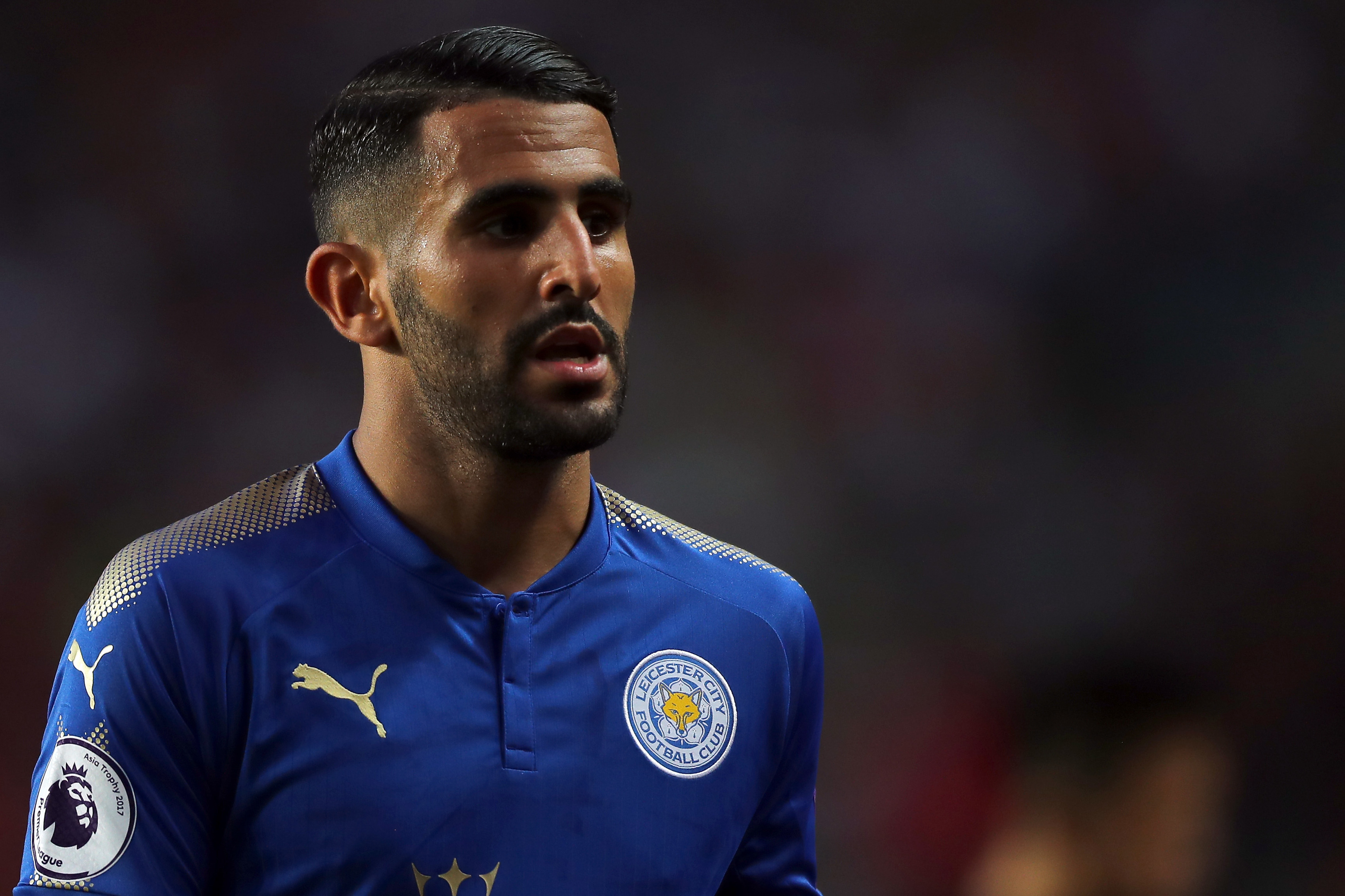 Riyad Mahrez of Leicester City (Stanley Chou/Getty Images)