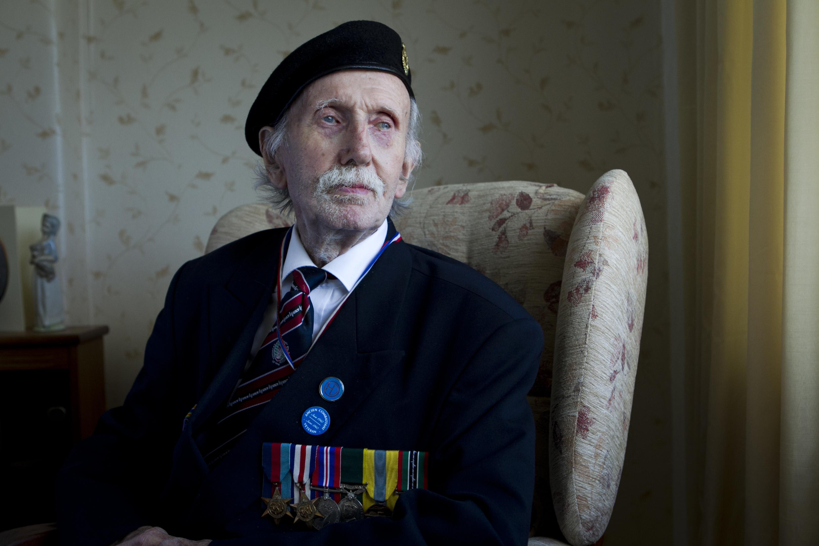 Dunkirk veteran Geoff Bryden (Andrew Cawley / DC Thomson)