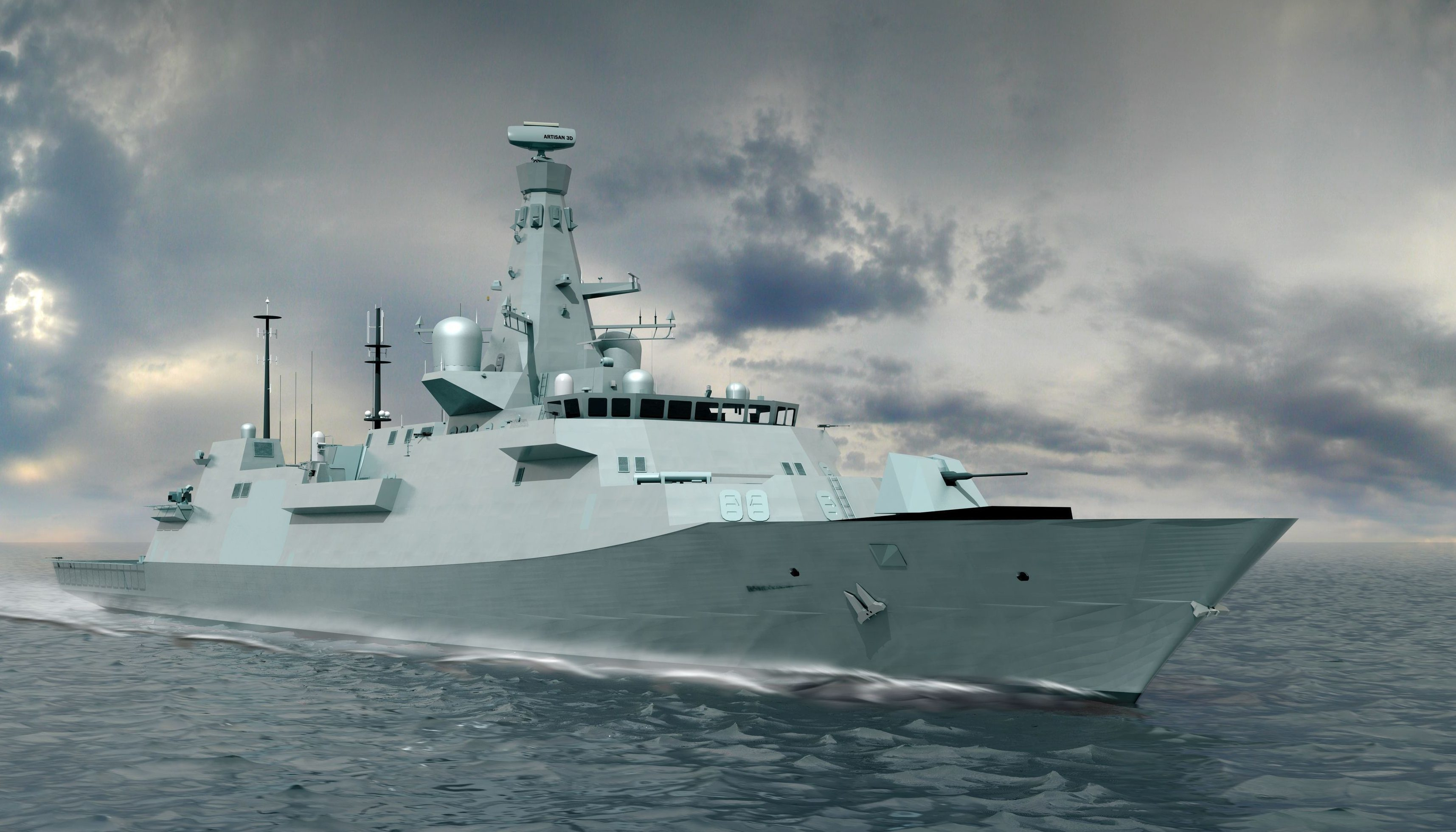 Type 26 destroyer (BAE Systems/PA Wire)