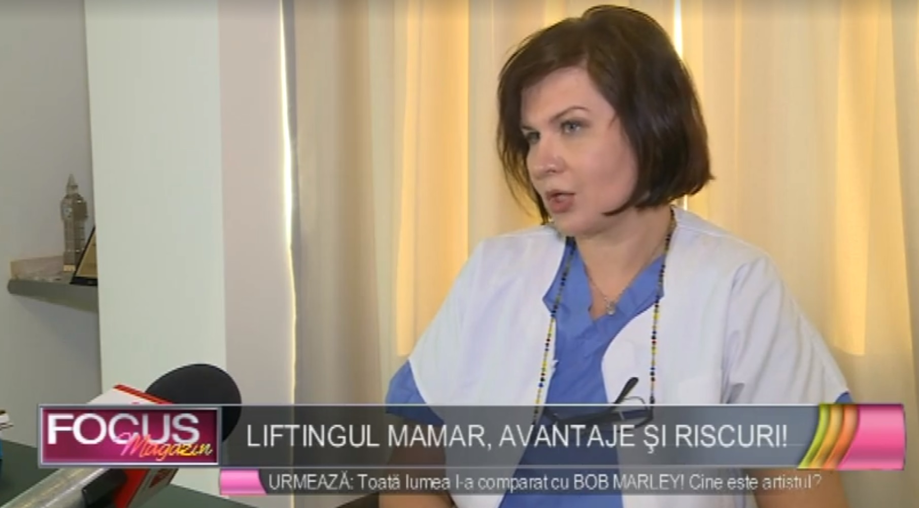 Dr Vasilescu appears on Romanian TV