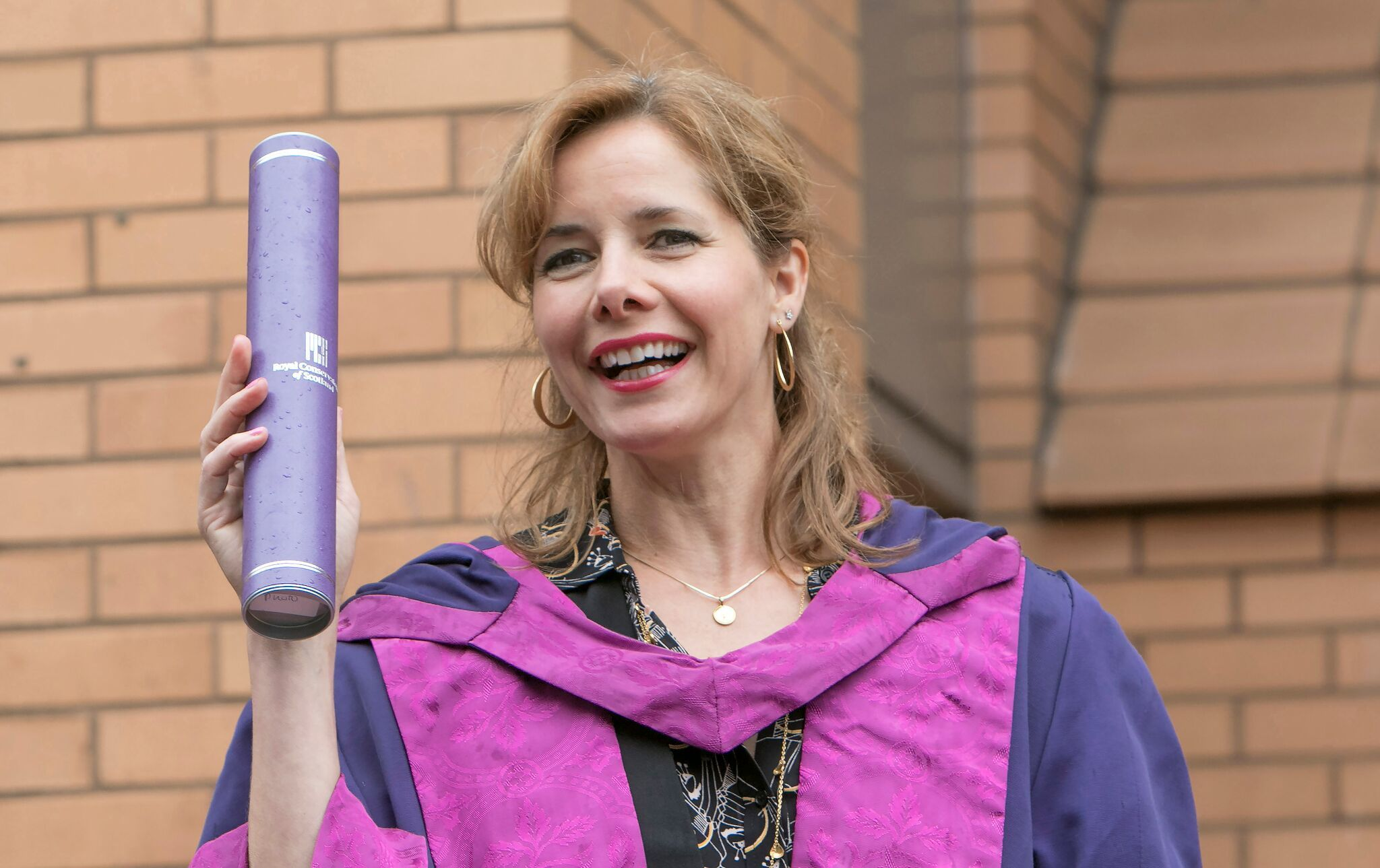 Darcey Bussell picks up her degree (Royal Conservatoire of Scotland)