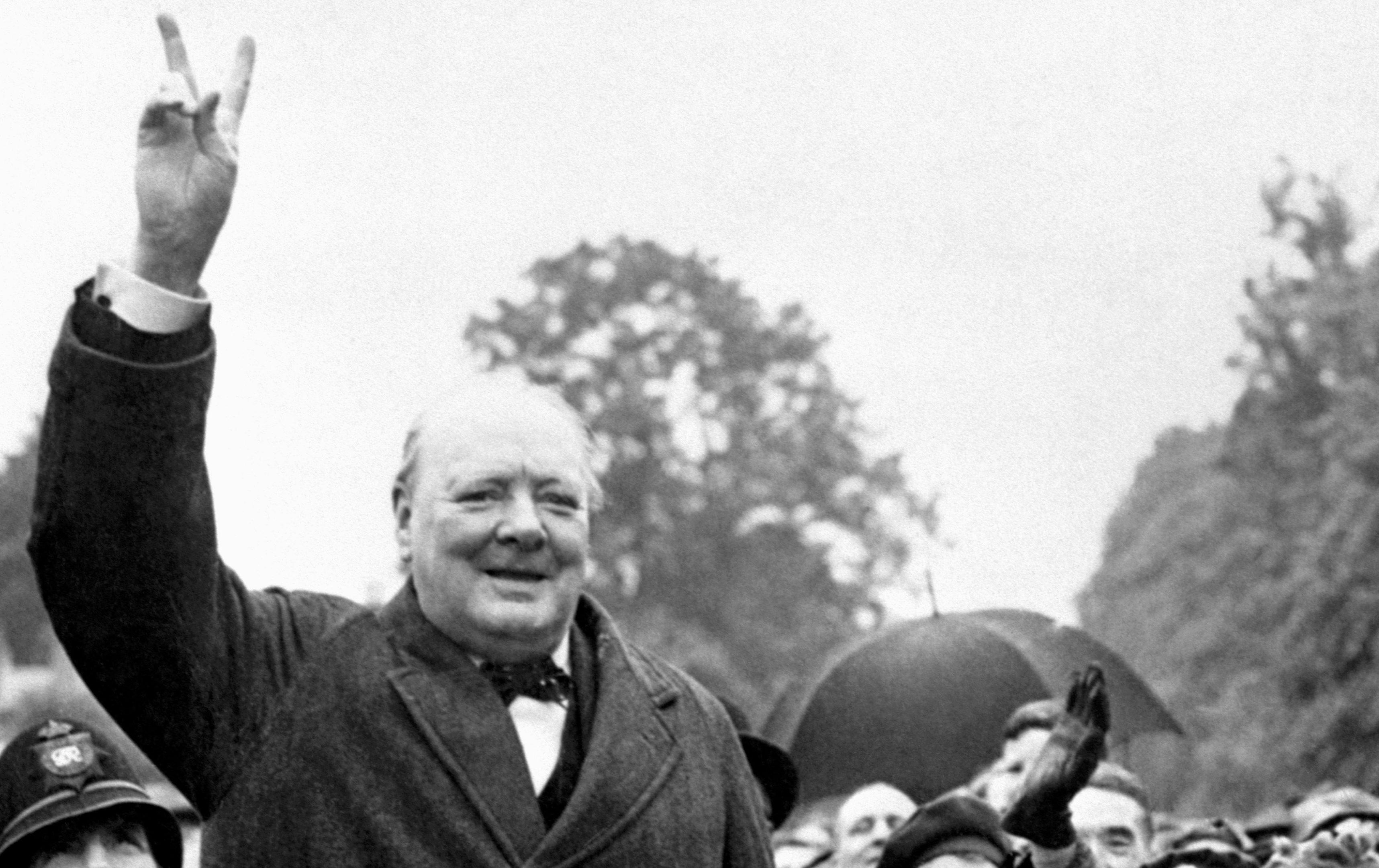 Sir Winston Churchill (PA Archive)