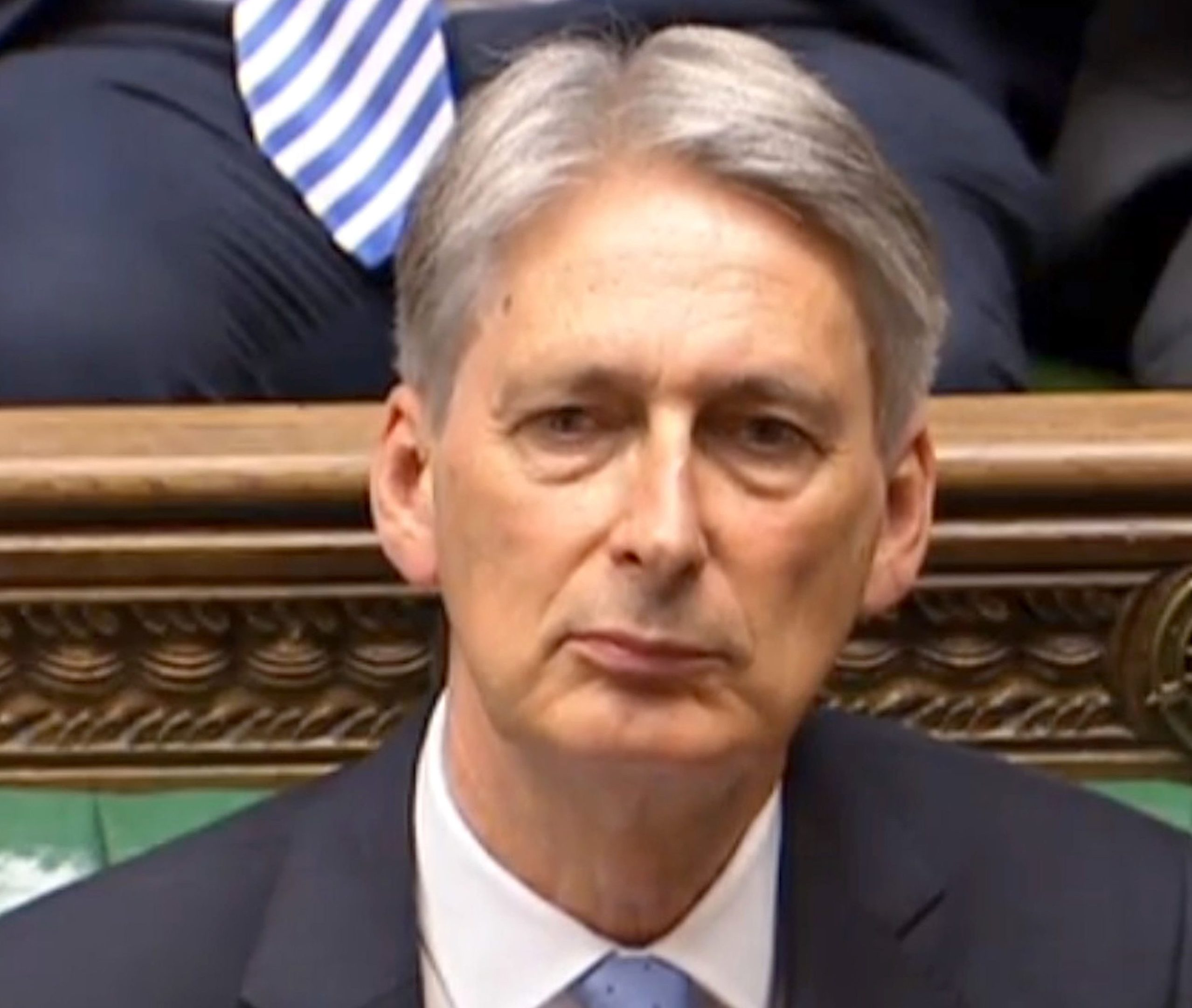 Chancellor Philip Hammond during Prime Minister's Questions (PA/PA Wire)