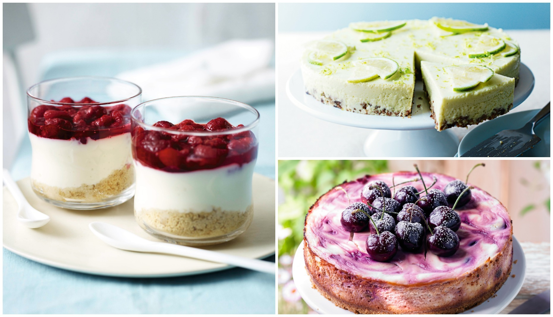 These delicious cheesecake recipes are easy to make (Waitrose)