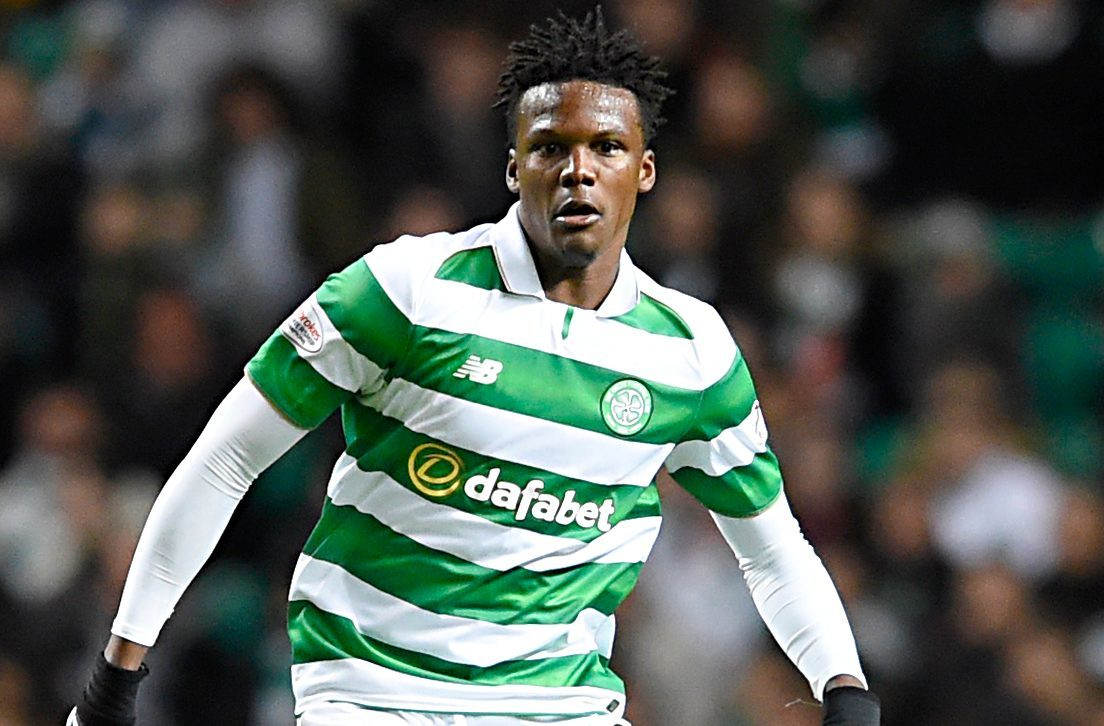Celtic defender Dedryck Boyata will be out for up to three months with a knee injury, assistant coach Chris Davies has said. (Ian Rutherford/PA Wire)