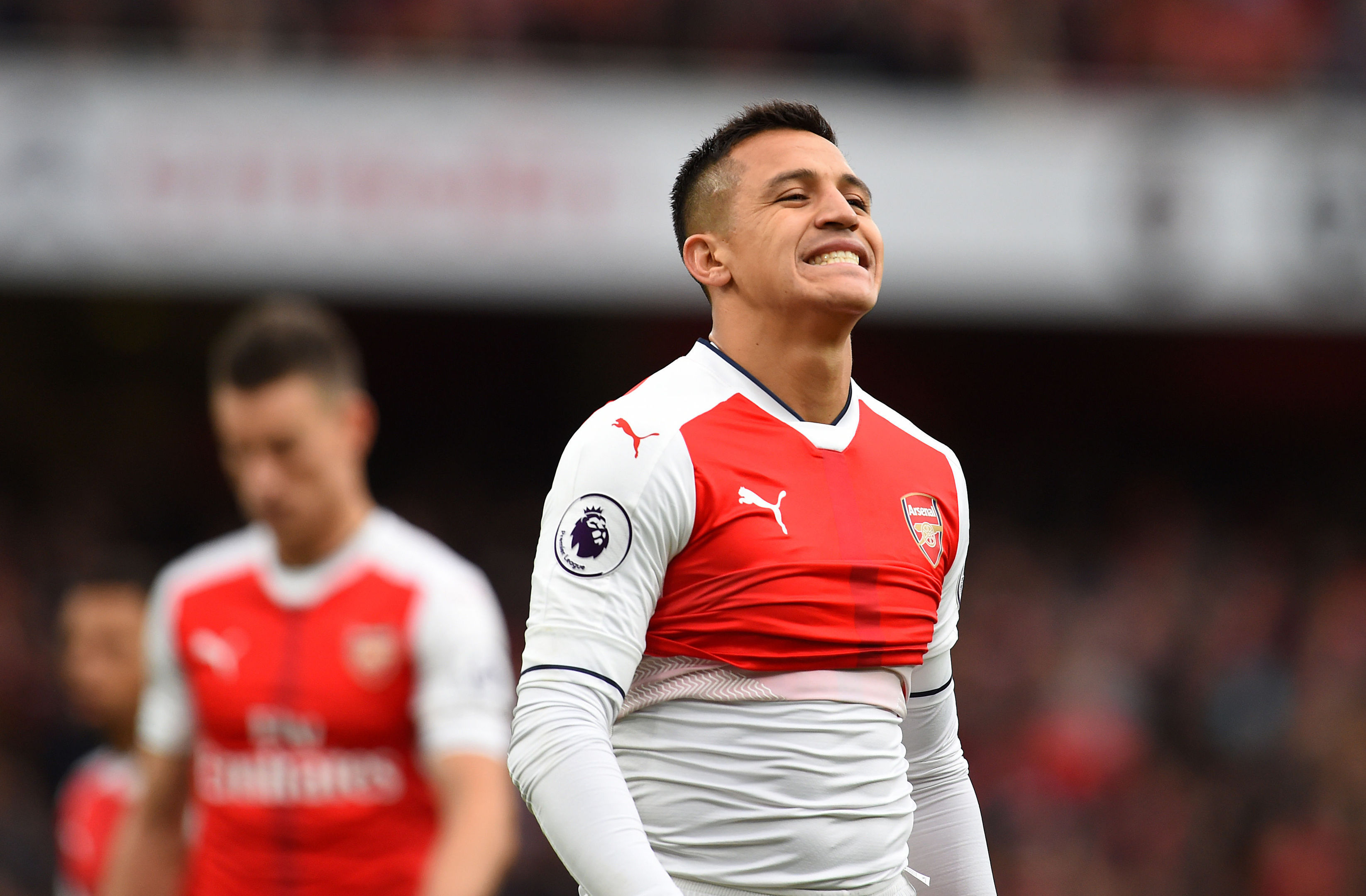 Arsenal's Alexis Sanchez (Dominic Lipinski/PA Wire)