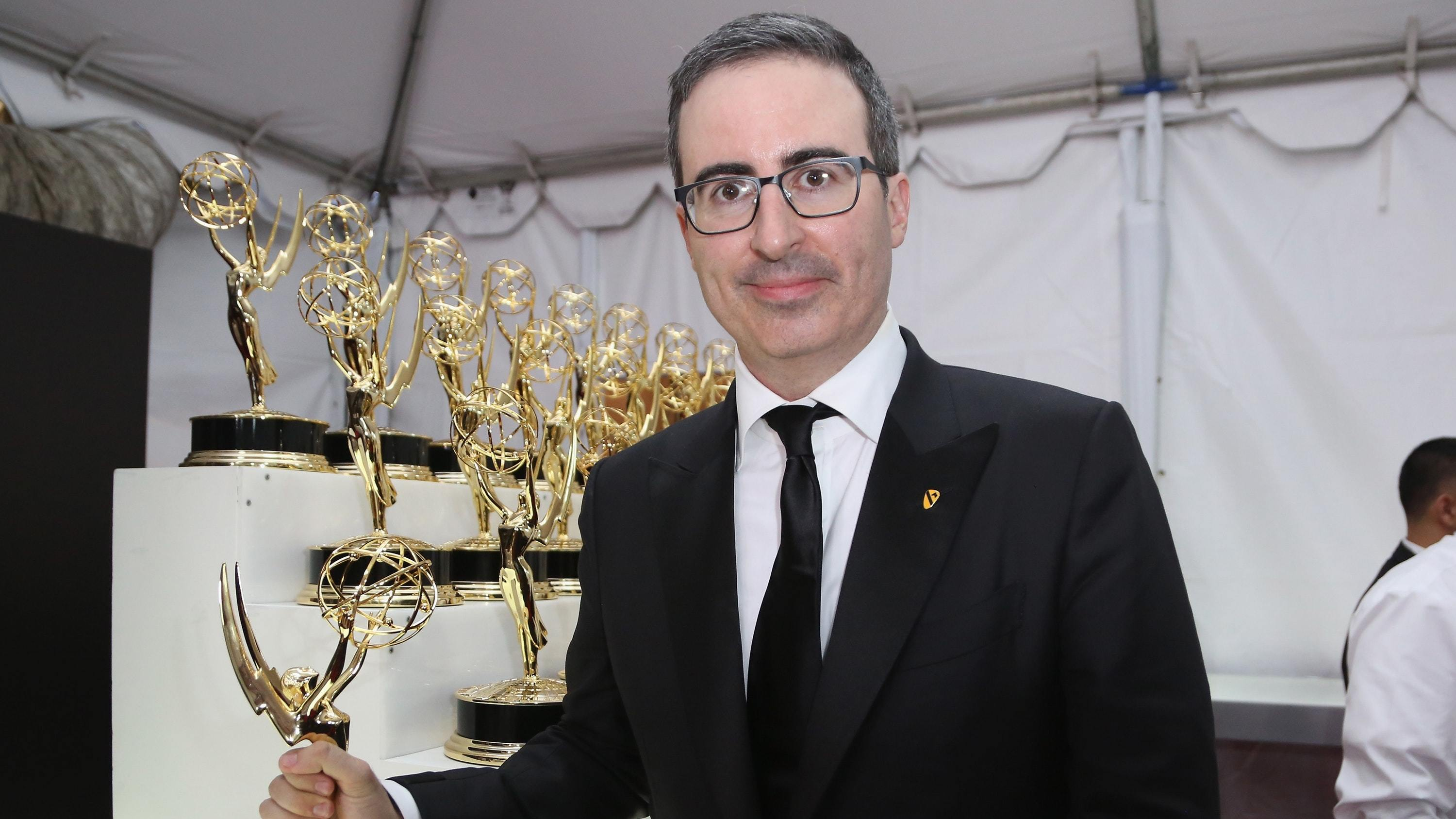 John Oliver 'to voice Zazu in The Lion King live-action remake' (Rich Fury/Invision/AP)
