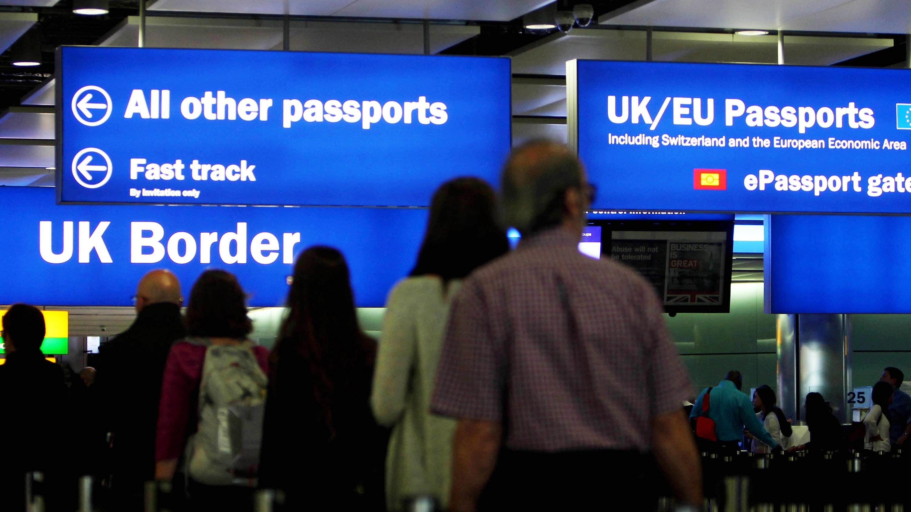Free movement will end when Britain leaves the EU (Steve Parsons/PA)