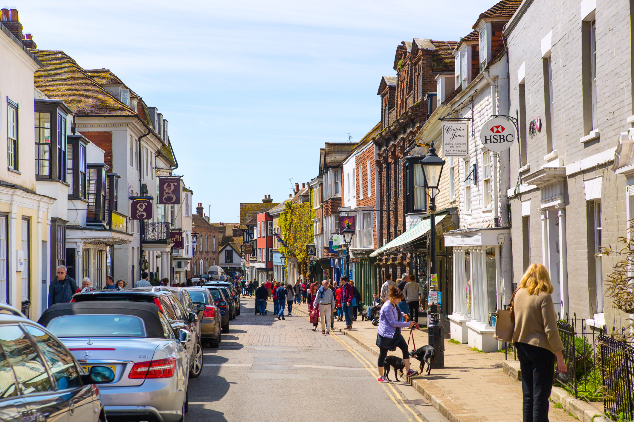 Old street of Rye town (Getty Images)